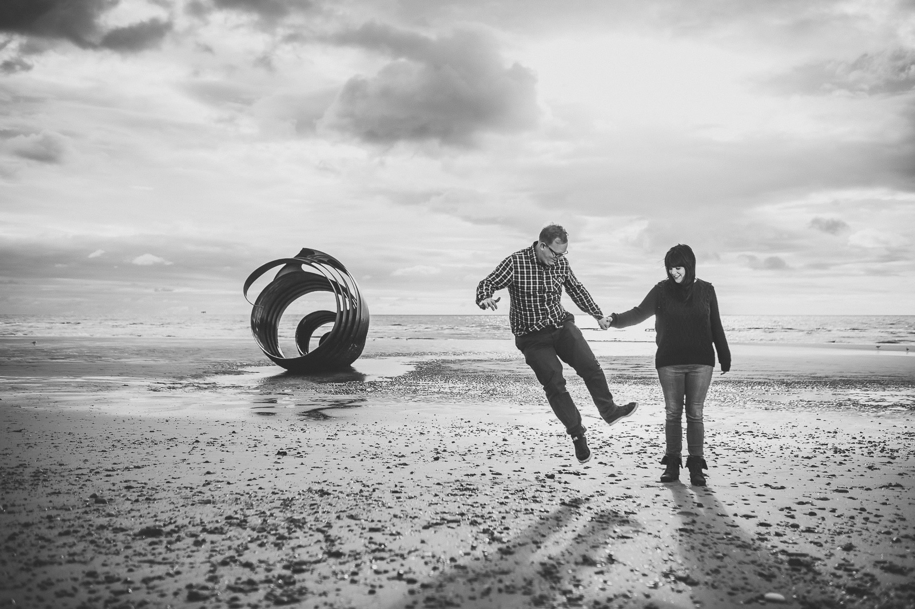 Laura and Graham Portrait Shoot on Cleveleys Promenade 019