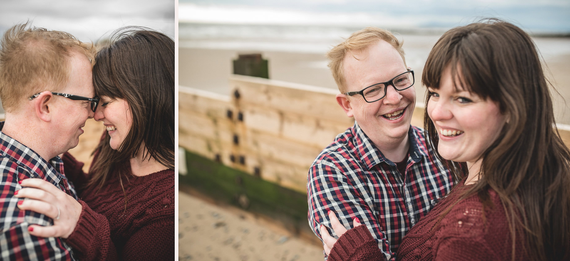 Laura and Graham Portrait Shoot on Cleveleys Promenade 023