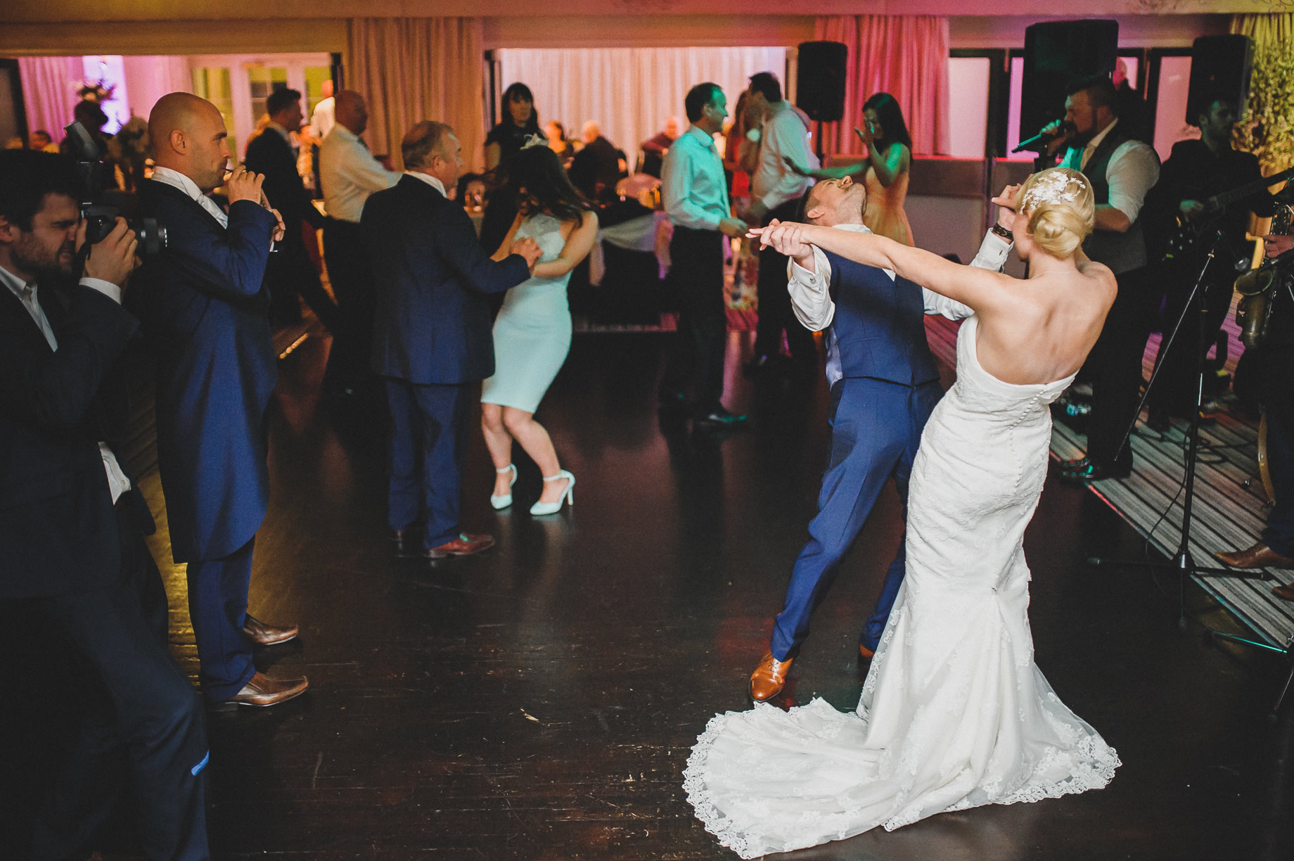 Rachel and Christian's Wedding at Holland Hall Hotel 194