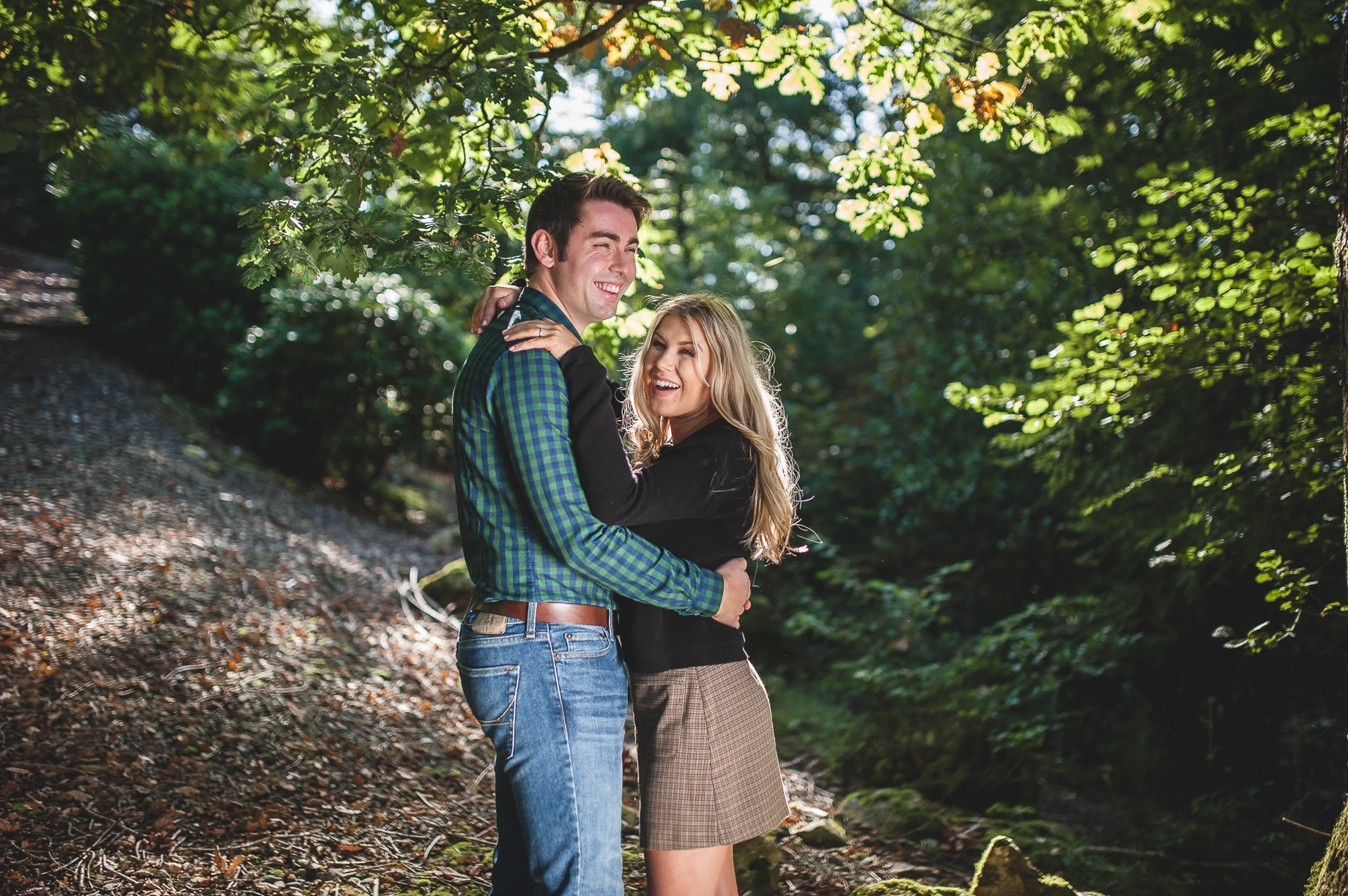 Becky and James' Pre-Wedding Shoot on Lake Windermere 002