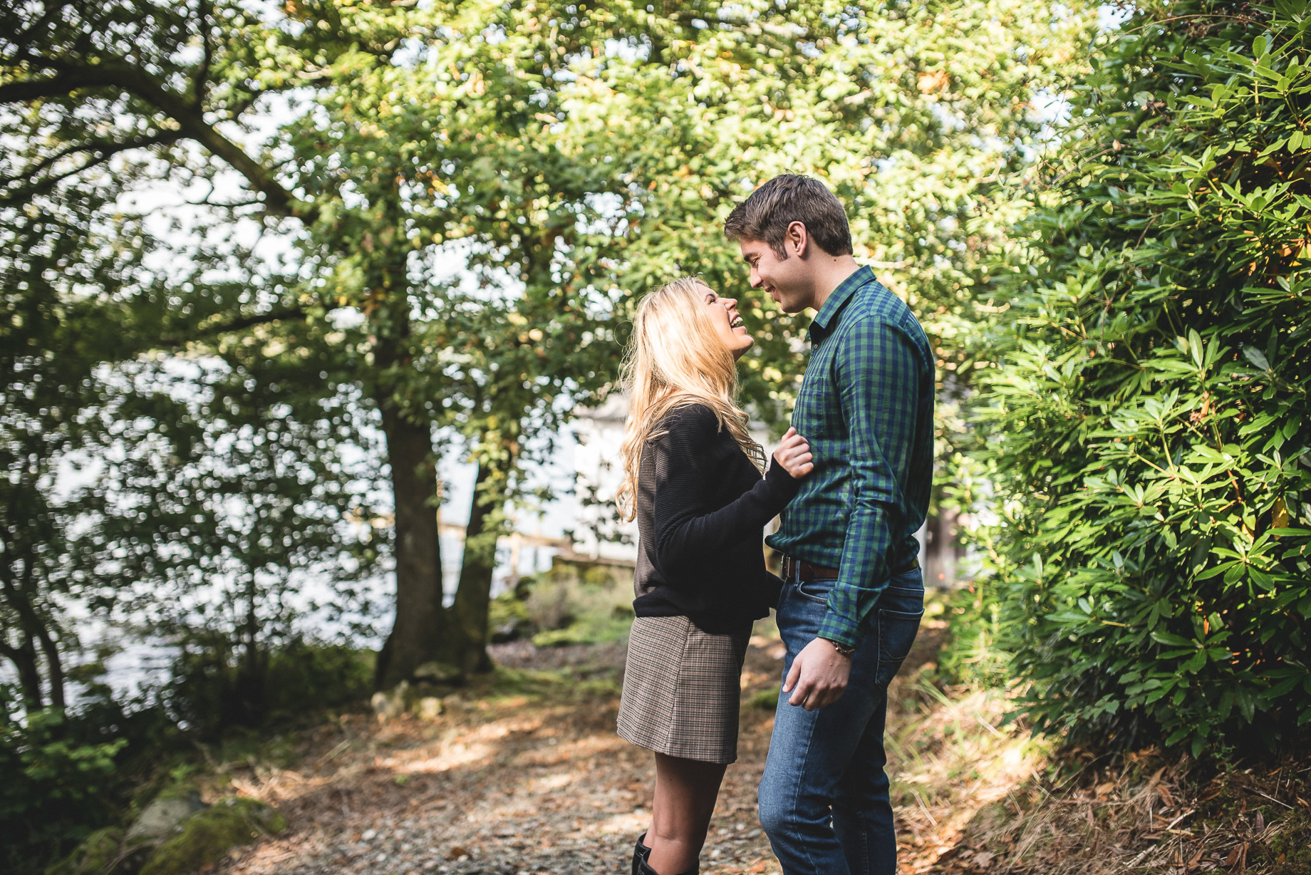 Becky and James' Pre-Wedding Shoot on Lake Windermere 012