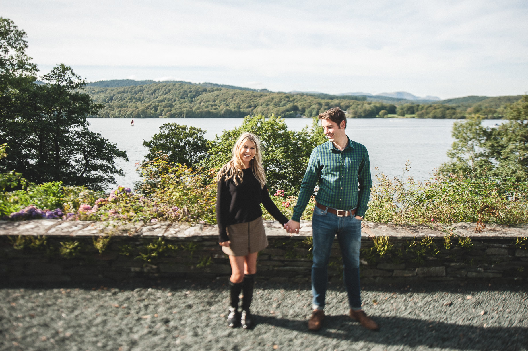 Becky and James' Pre-Wedding Shoot on Lake Windermere 020