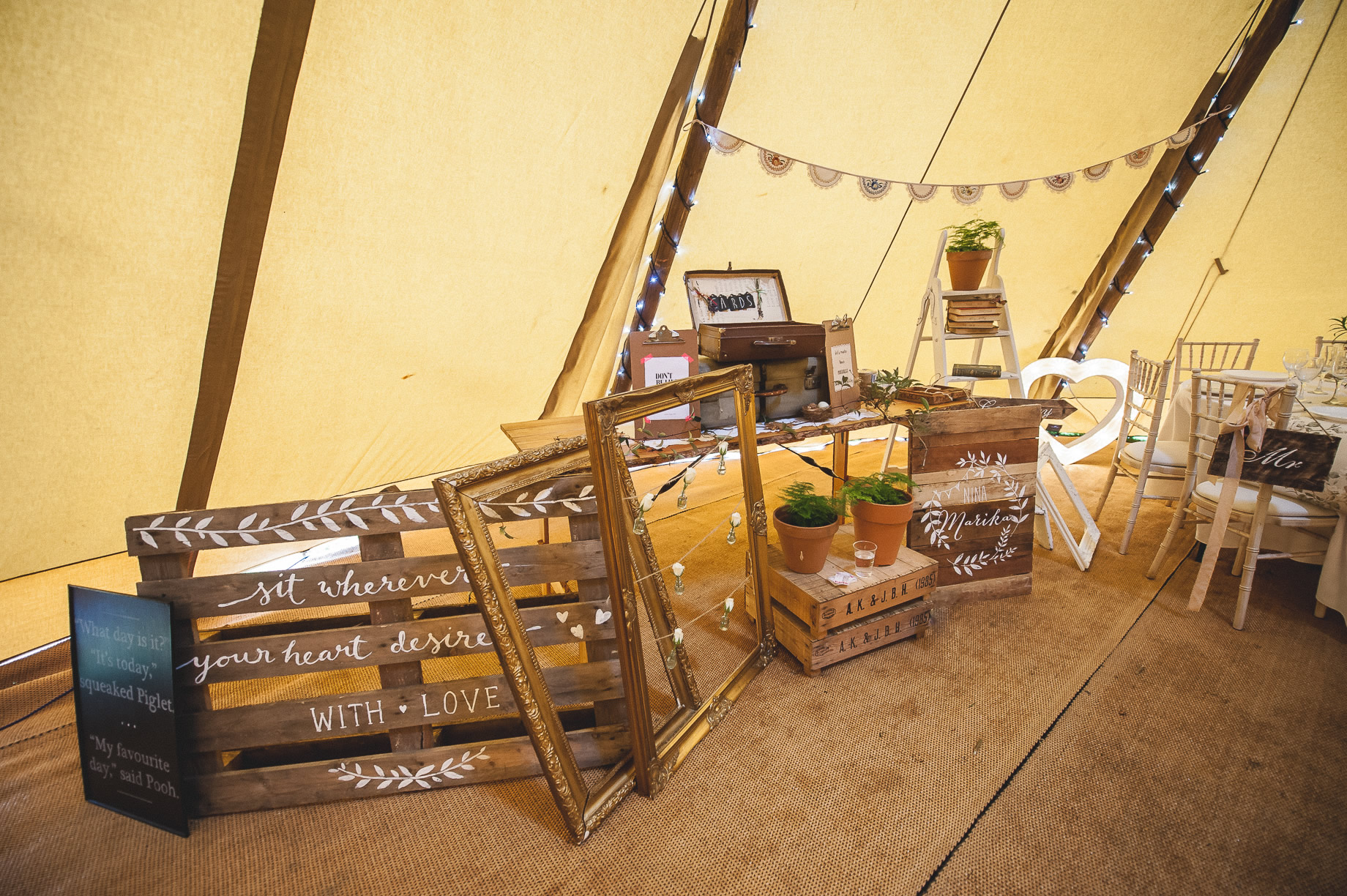 Teepee Tent Hire Open Weekend on Hoghton Cricket Field 022