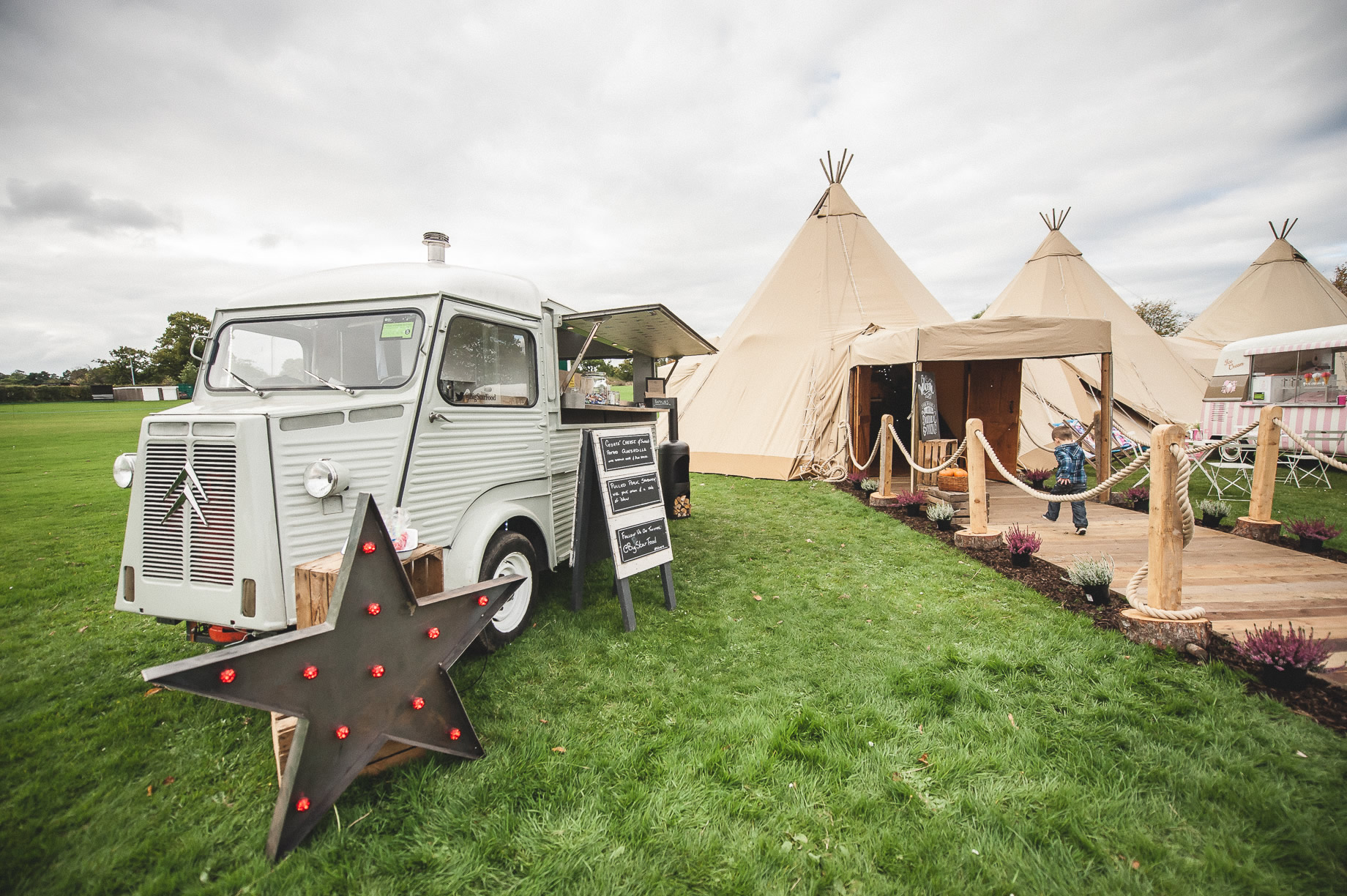 Teepee Tent Hire Open Weekend on Hoghton Cricket Field 029