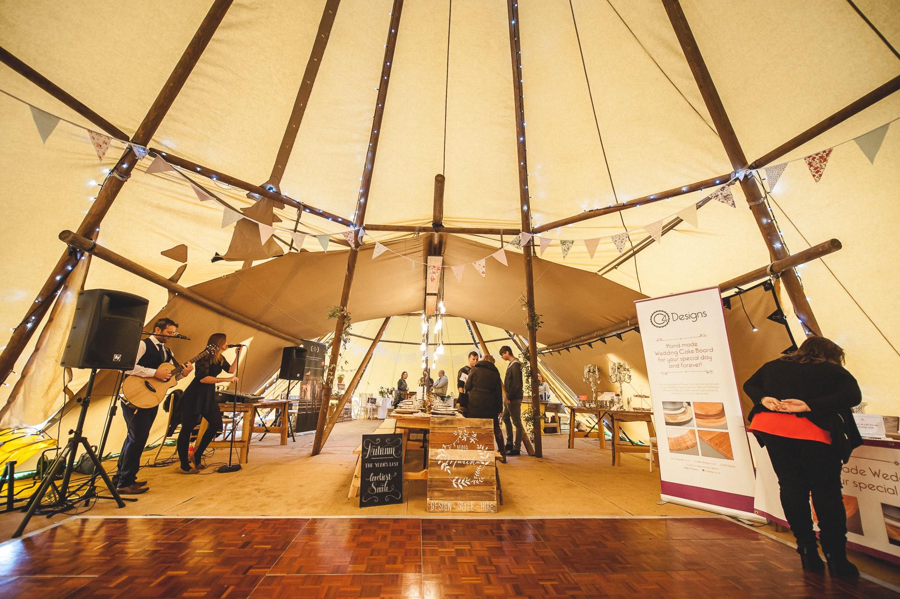 Teepee Tent Hire Open Weekend on Hoghton Cricket Field 033
