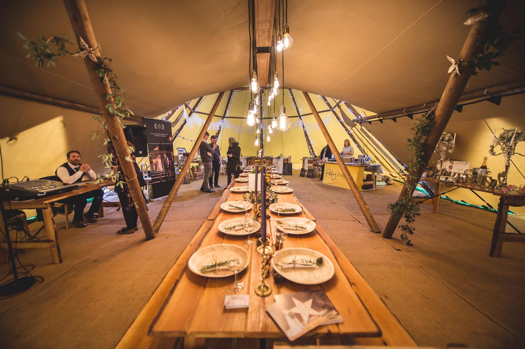 Teepee Tent Hire Open Weekend on Hoghton Cricket Field 037