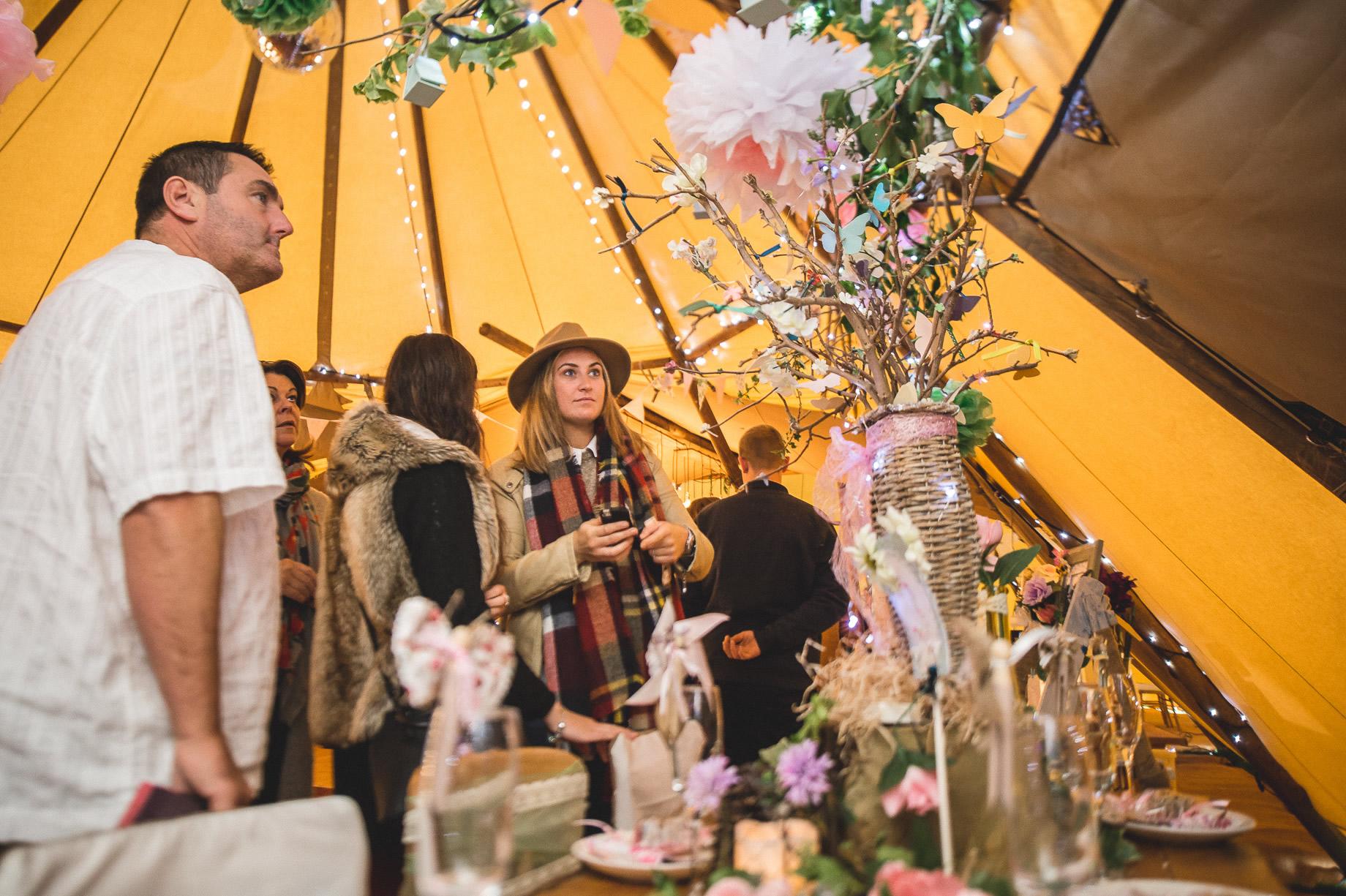 Teepee Tent Hire Open Weekend on Hoghton Cricket Field 045