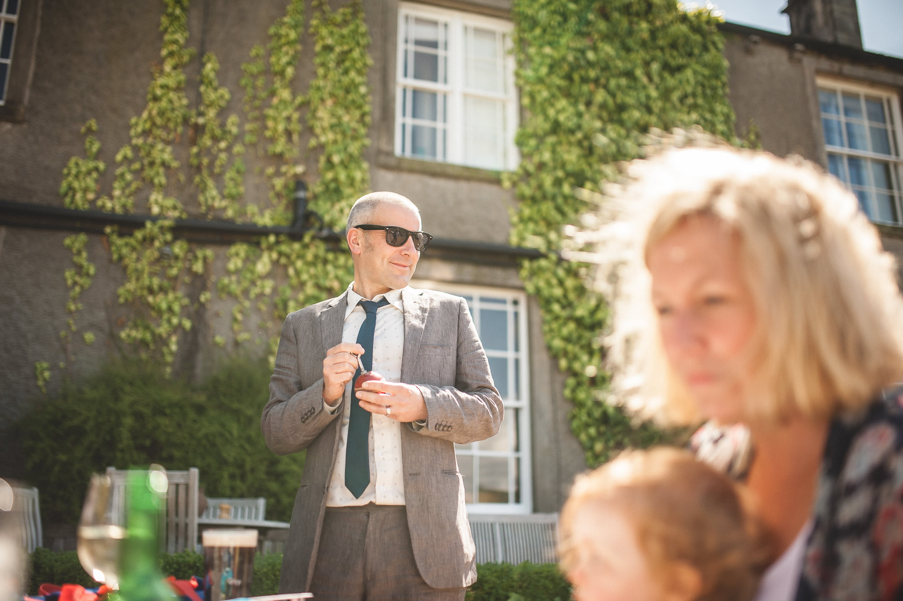 Tess and Paul's Wedding at The Inn at Whitewell 030