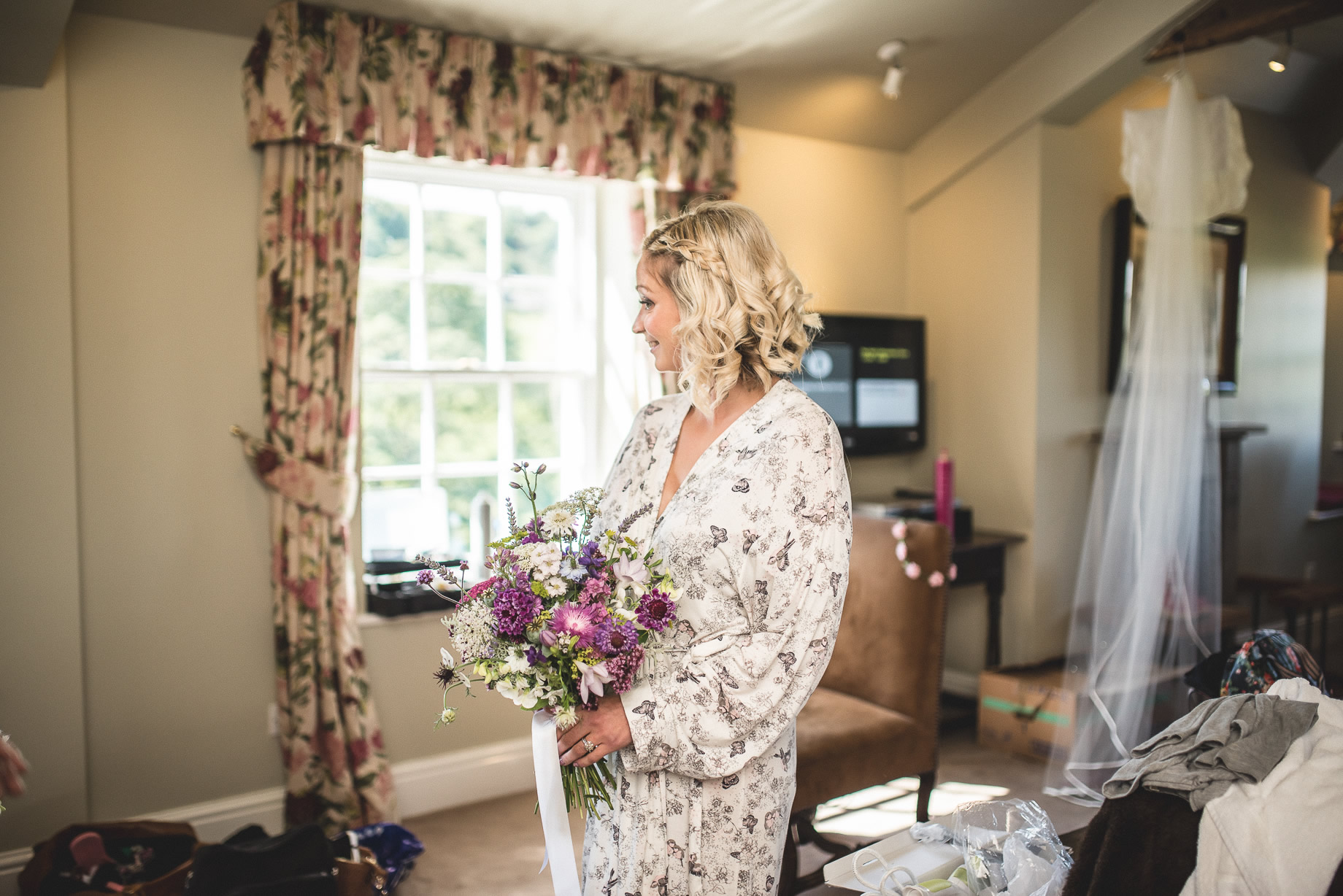 Tess and Paul's Wedding at The Inn at Whitewell 038