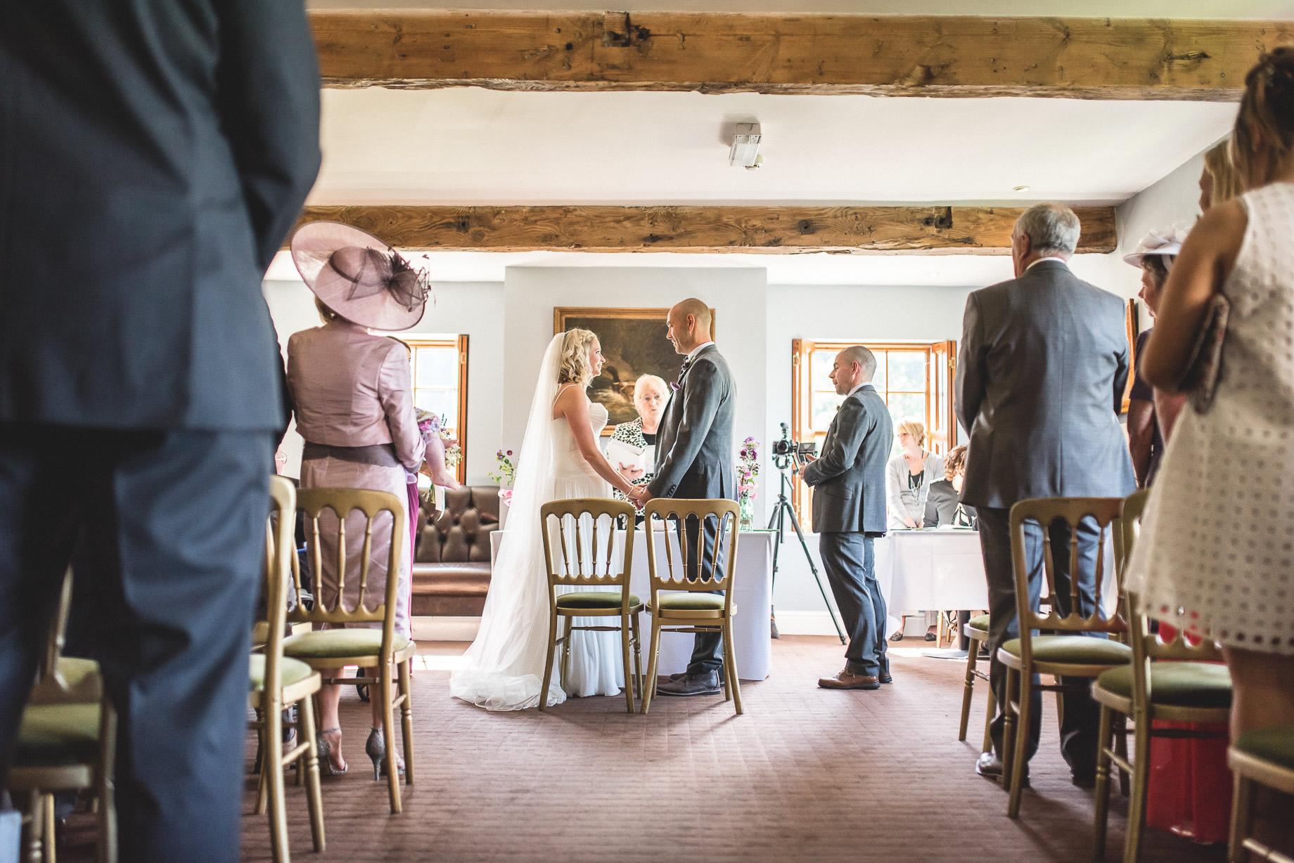 Tess and Paul's Wedding at The Inn at Whitewell 073