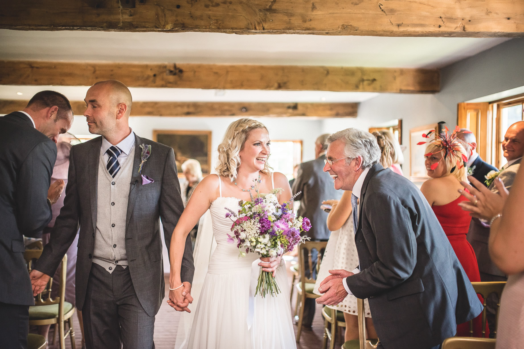 Tess and Paul's Wedding at The Inn at Whitewell 081
