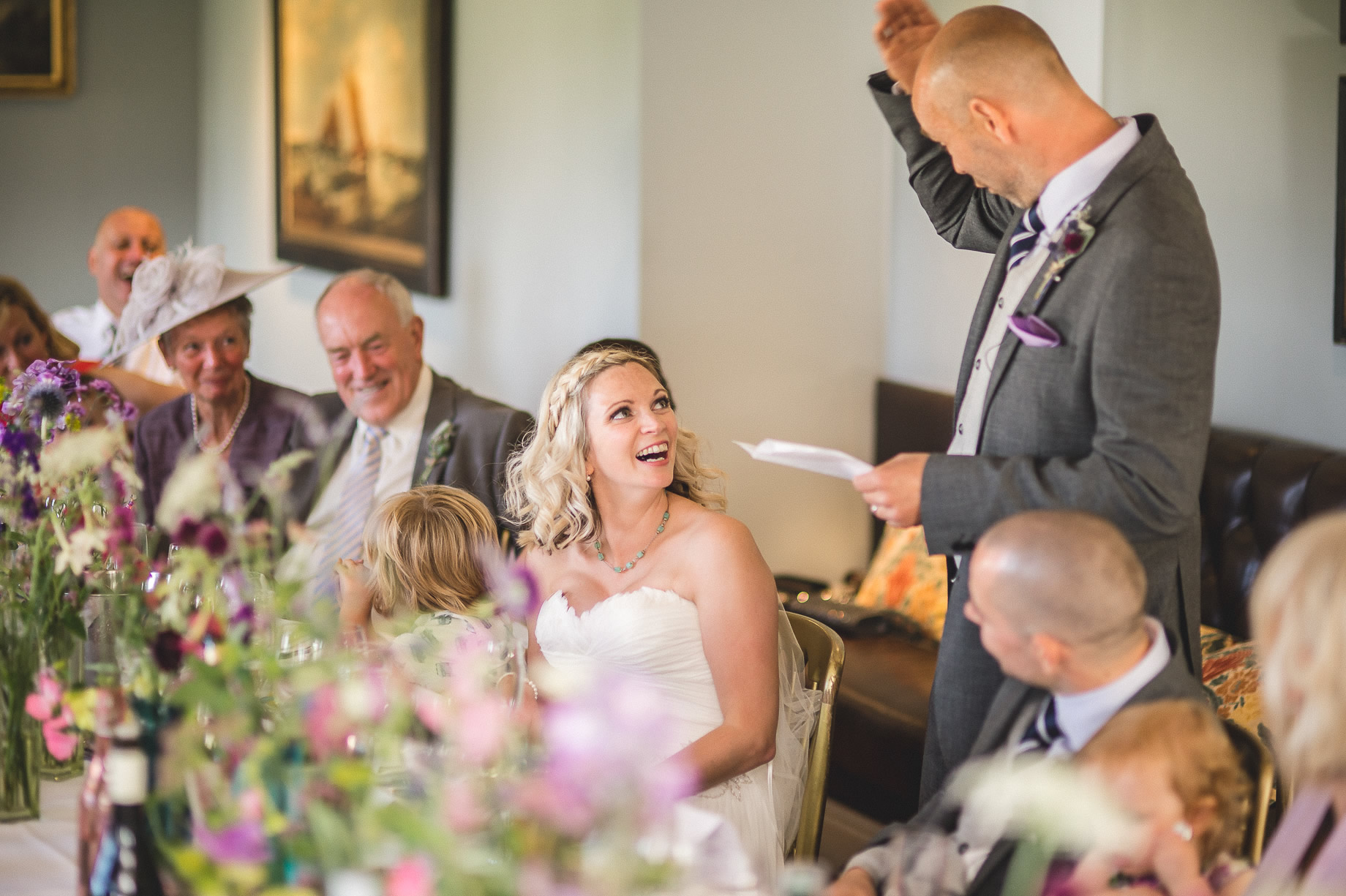 Tess and Paul's Wedding at The Inn at Whitewell 106