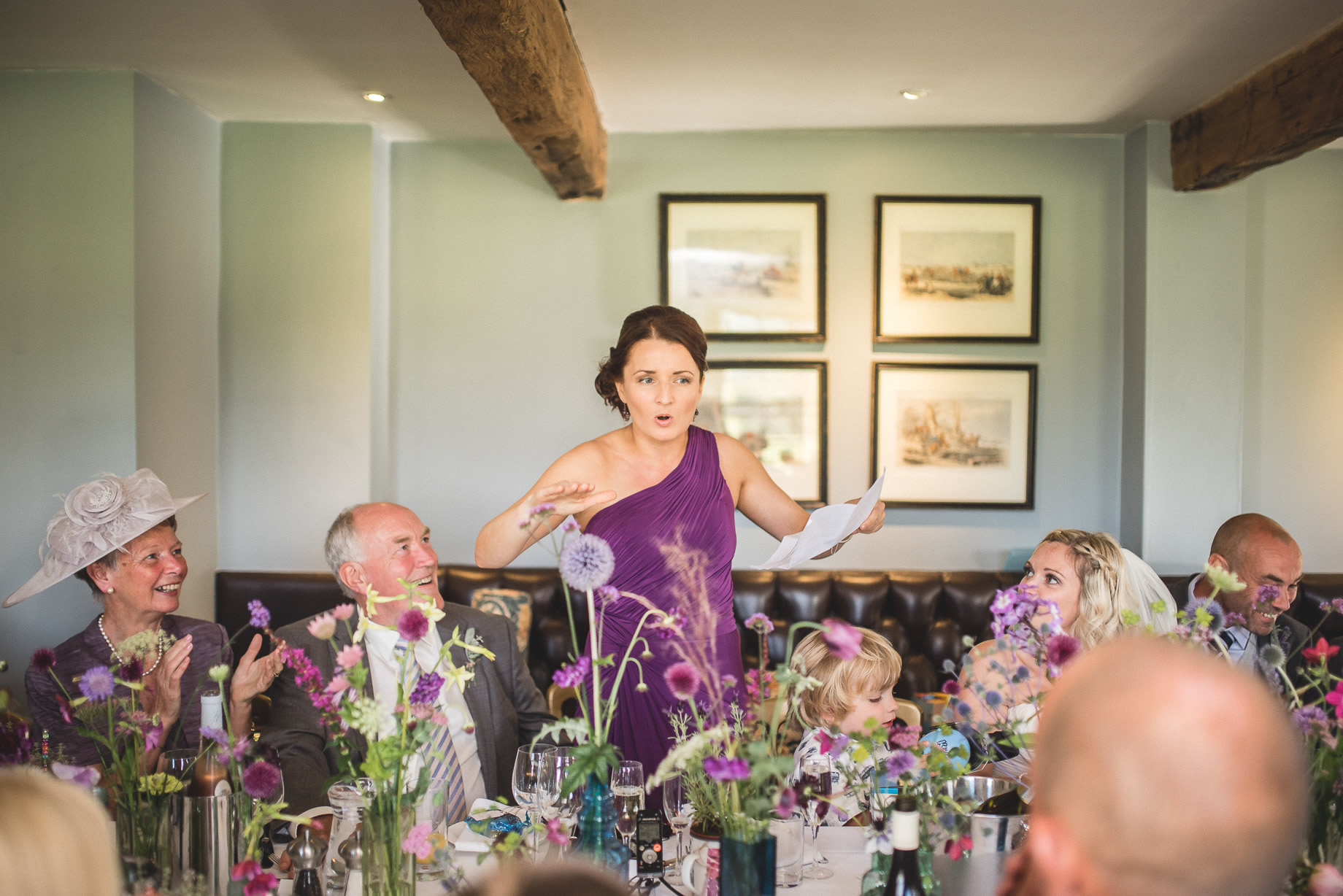 Tess and Paul's Wedding at The Inn at Whitewell 108