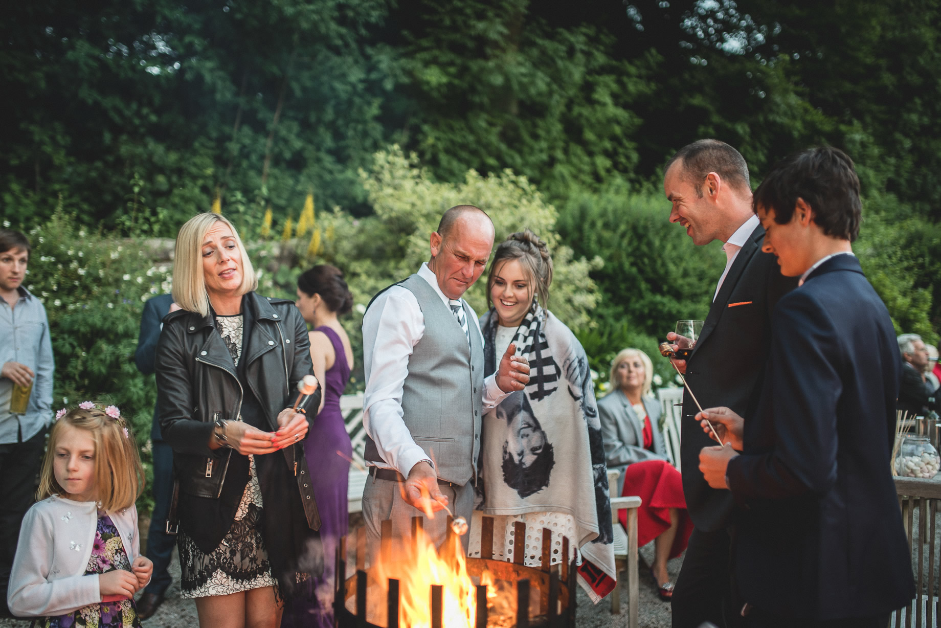 Tess and Paul's Wedding at The Inn at Whitewell 126