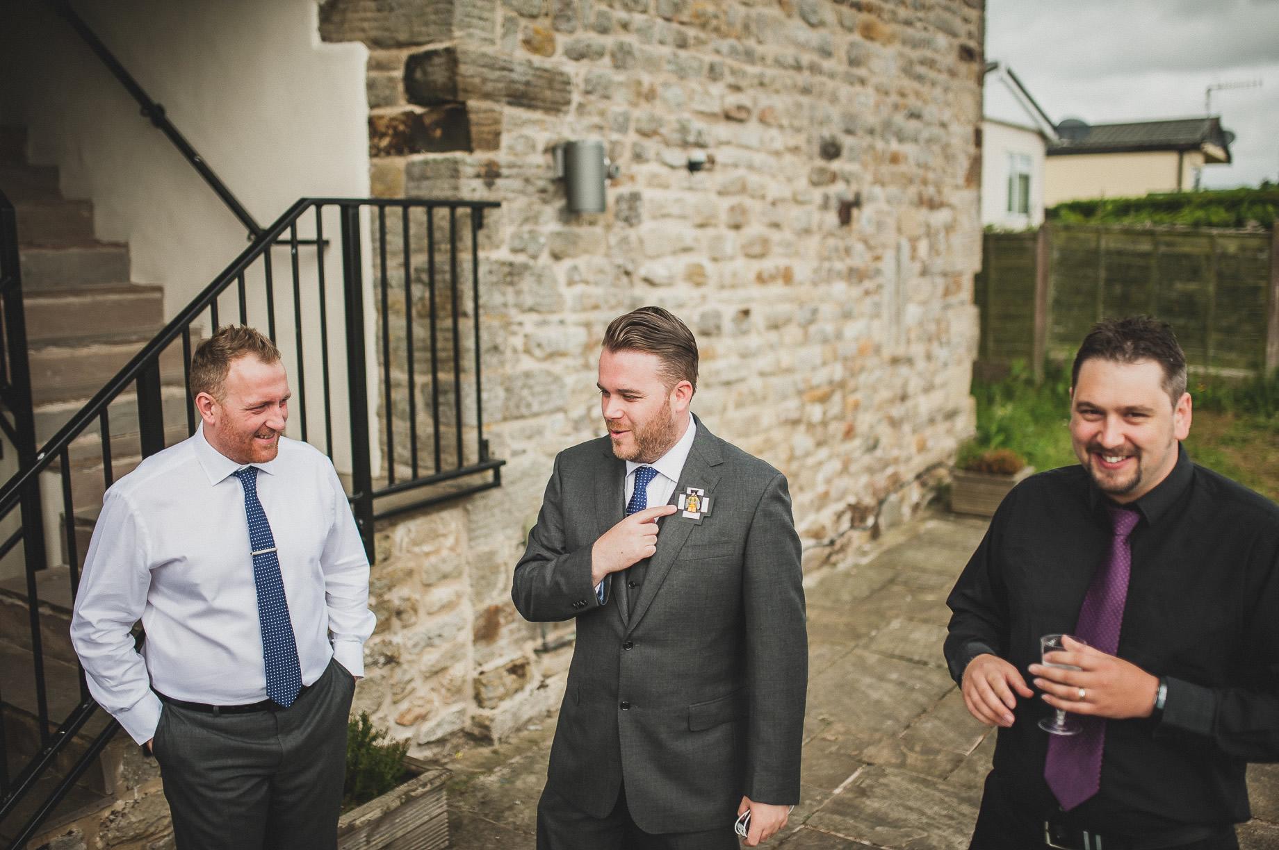 Becky and John's Wedding at Slaidburn Village Hall 020