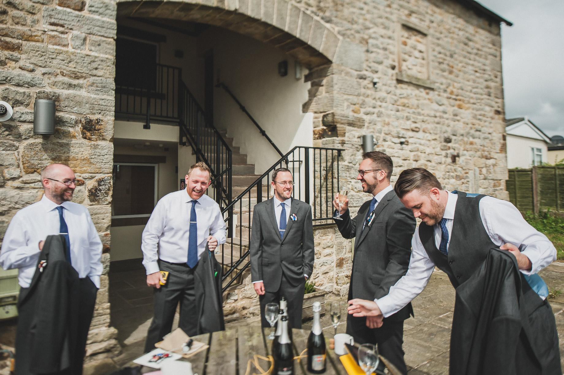 Becky and John's Wedding at Slaidburn Village Hall 025
