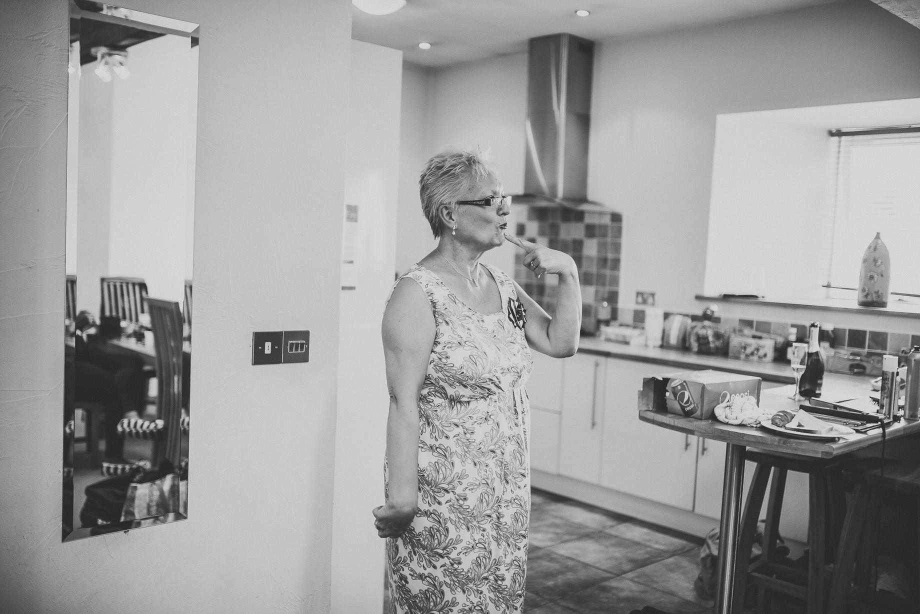 Becky and John's Wedding at Slaidburn Village Hall 026