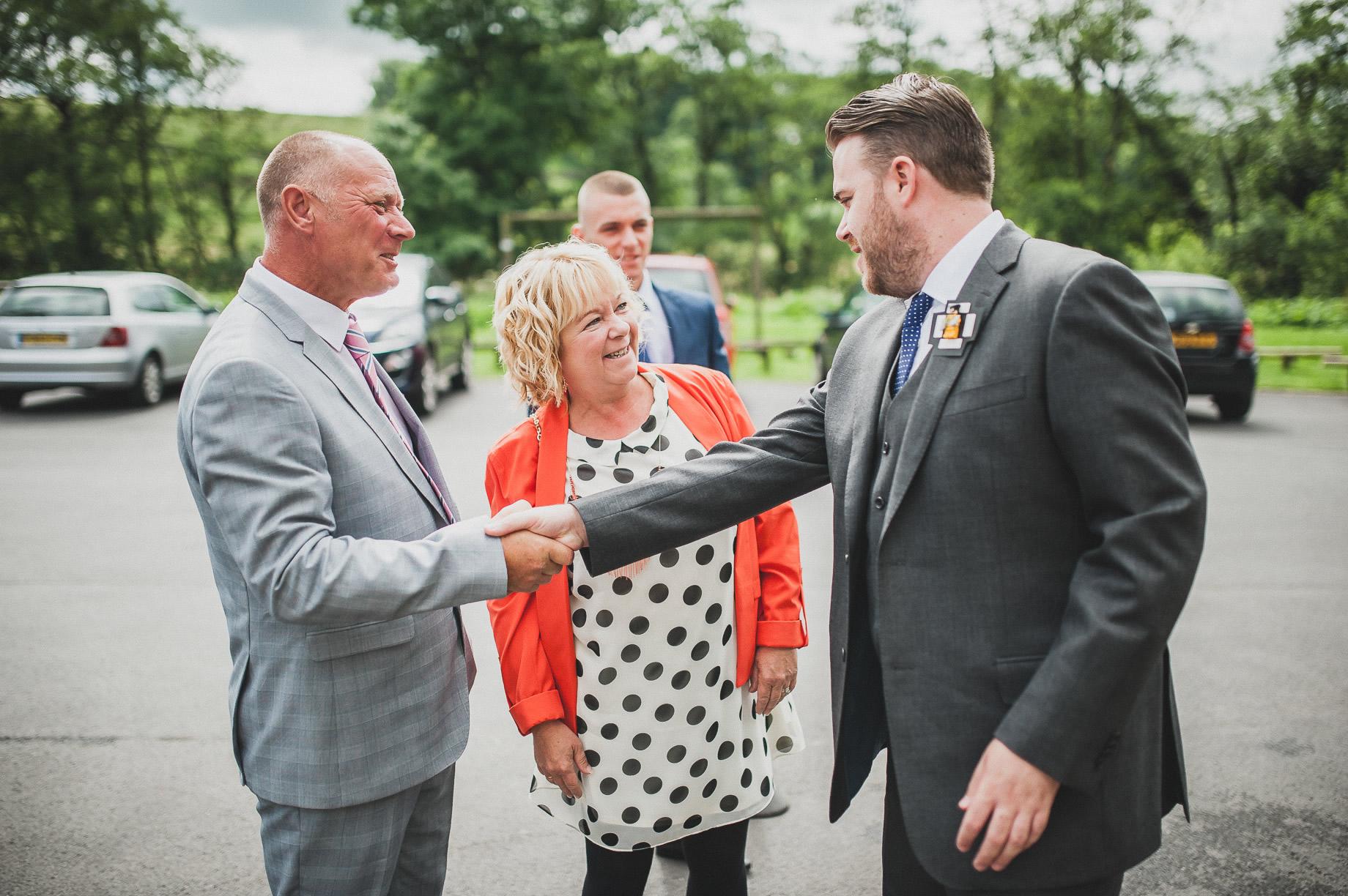Becky and John's Wedding at Slaidburn Village Hall 045