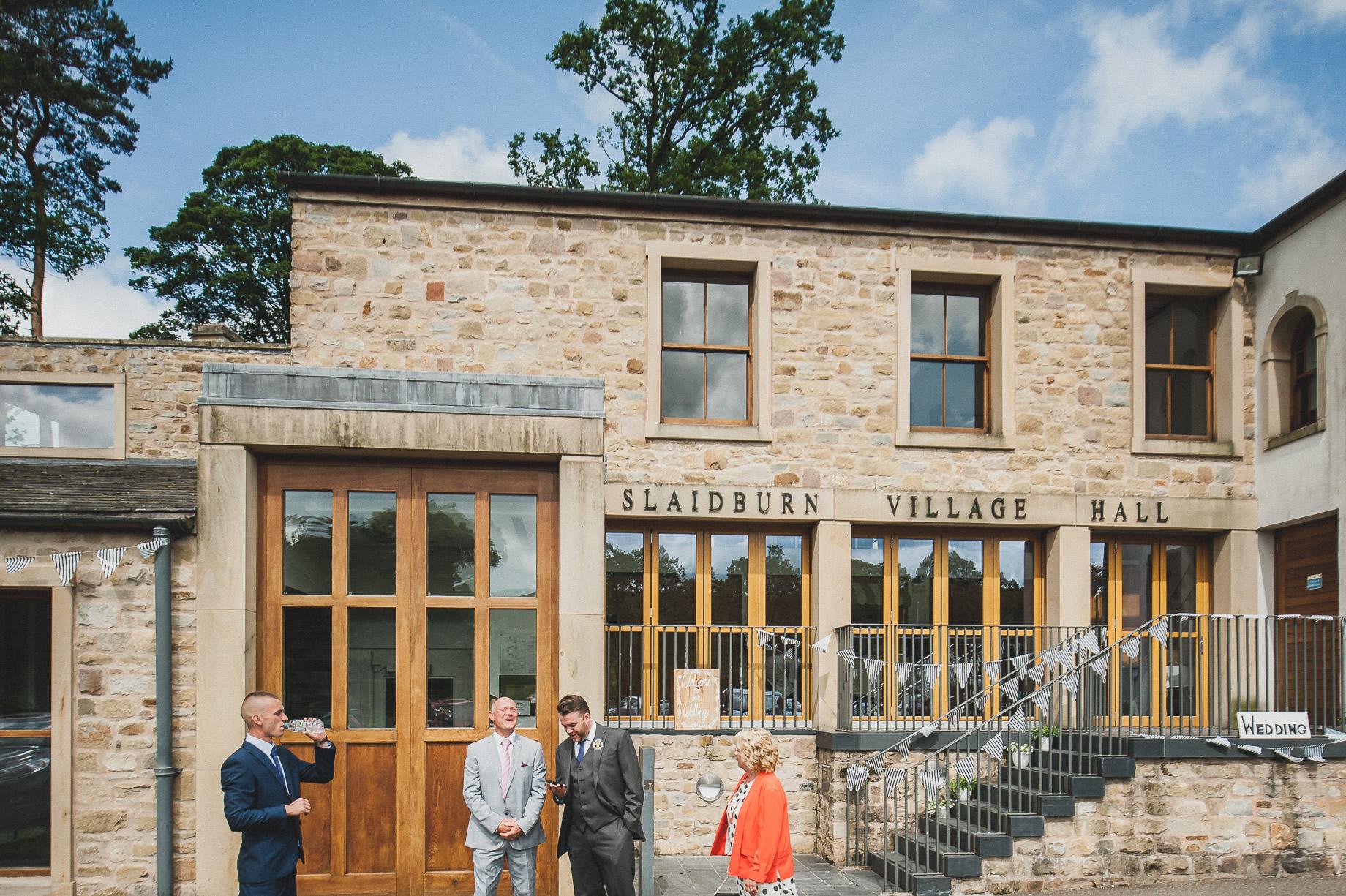 Becky and John's Wedding at Slaidburn Village Hall 046