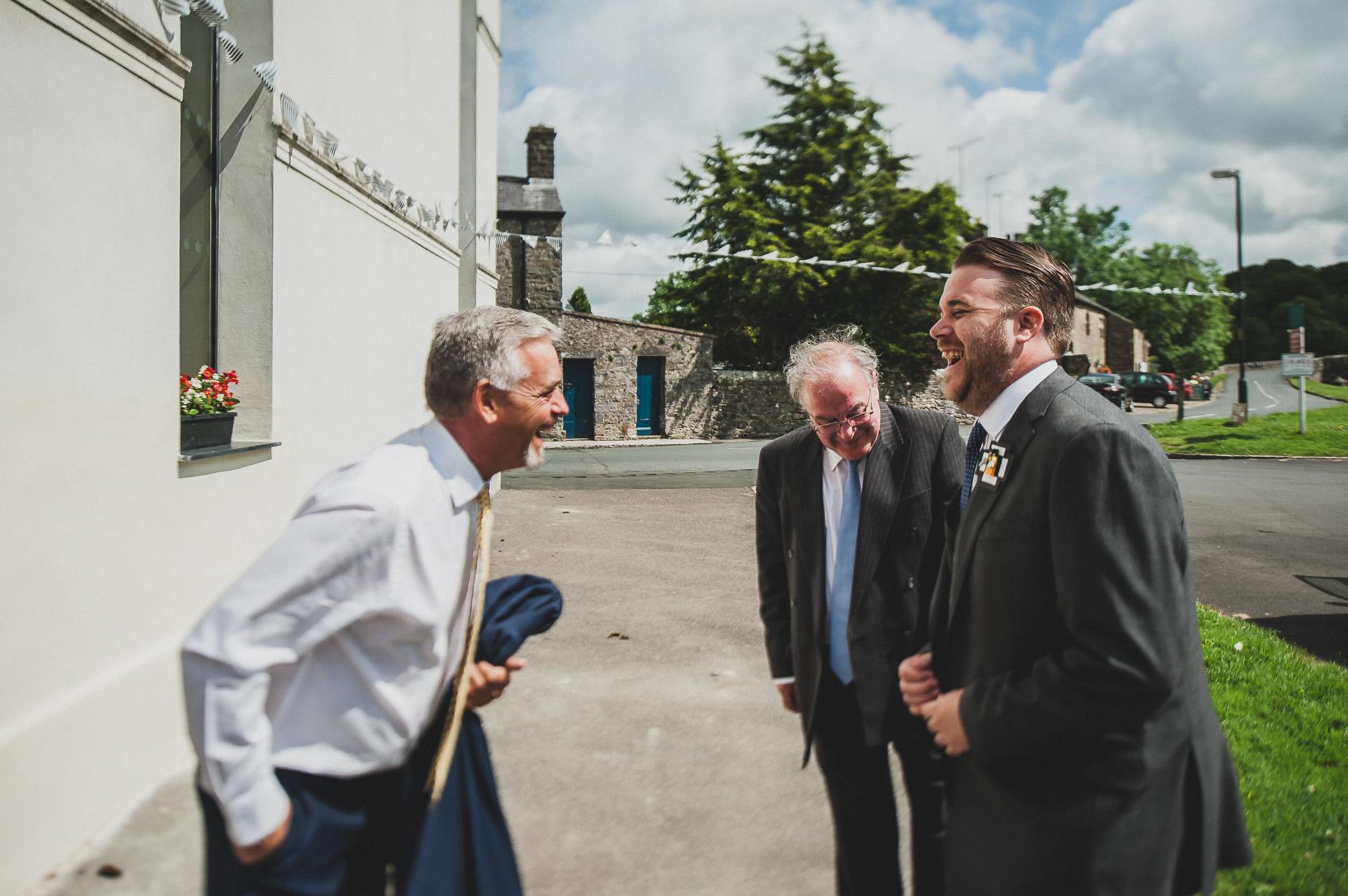 Becky and John's Wedding at Slaidburn Village Hall 047