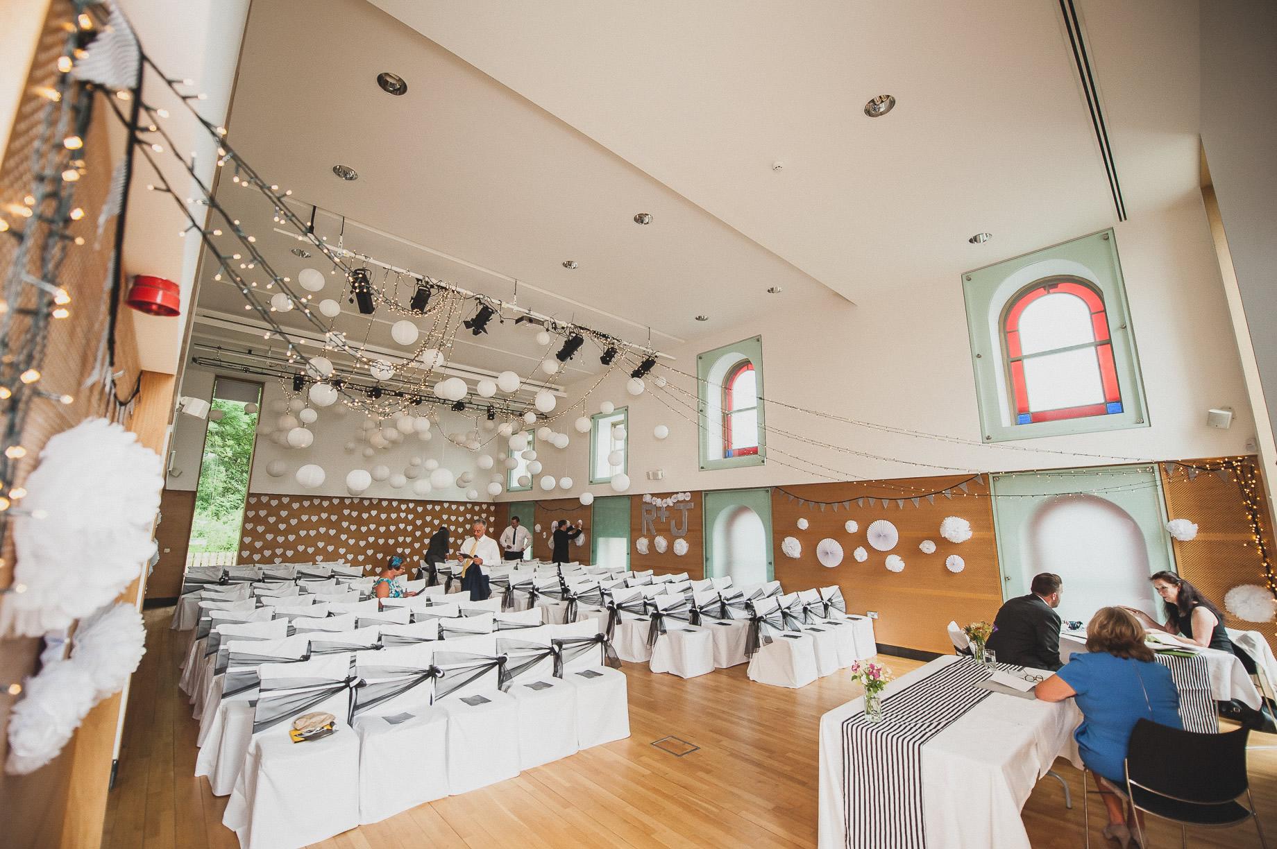 Becky and John's Wedding at Slaidburn Village Hall 051