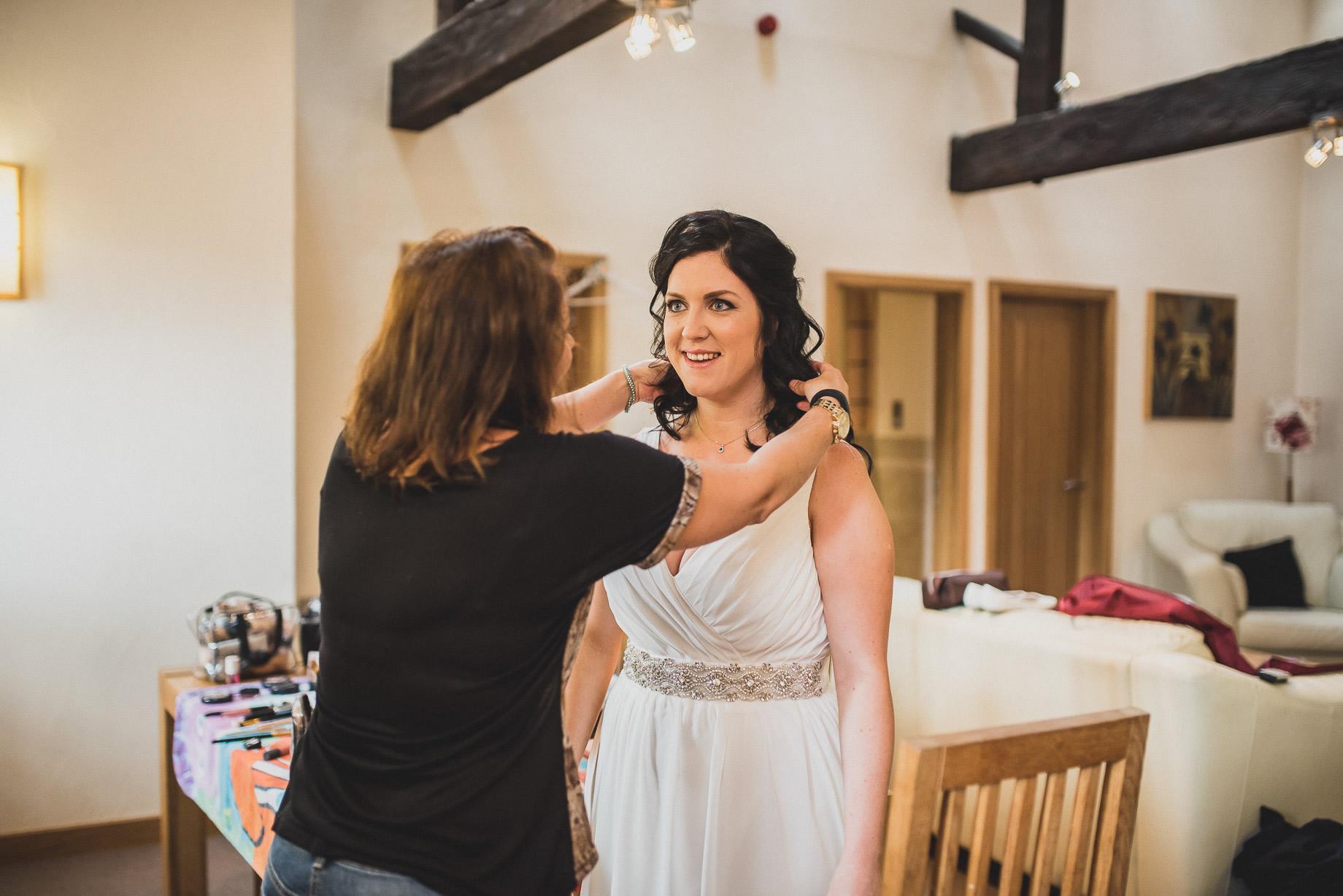 Becky and John's Wedding at Slaidburn Village Hall 057