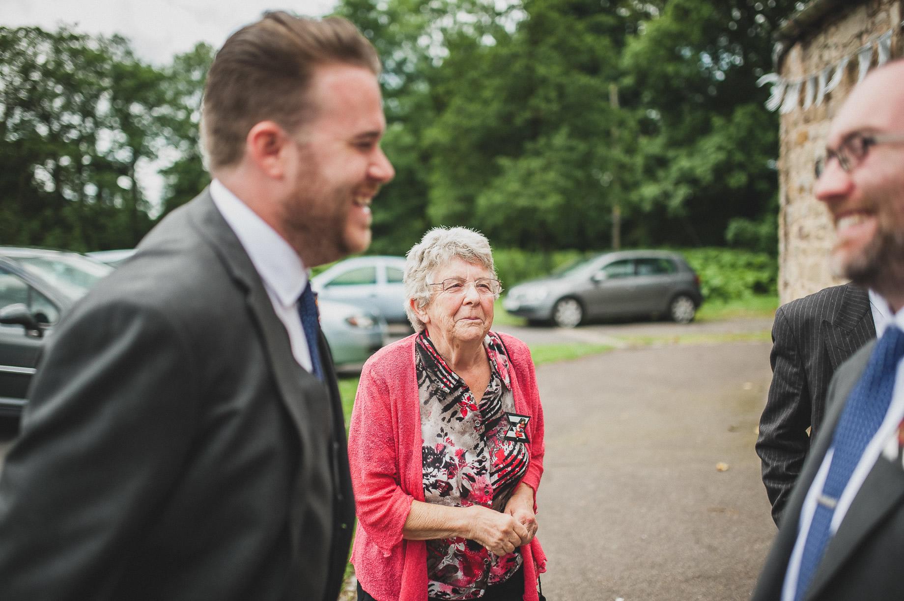Becky and John's Wedding at Slaidburn Village Hall 059