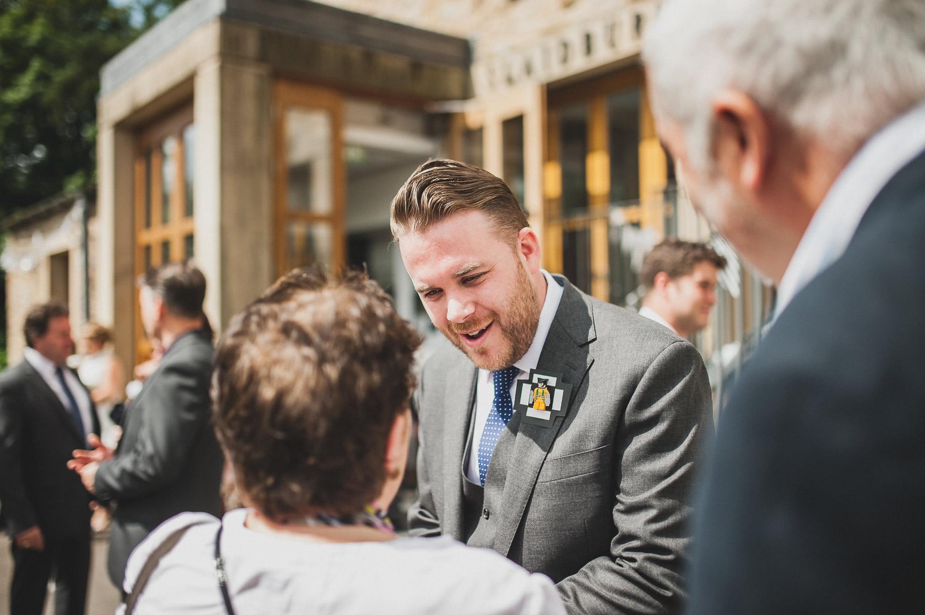 Becky and John's Wedding at Slaidburn Village Hall 062