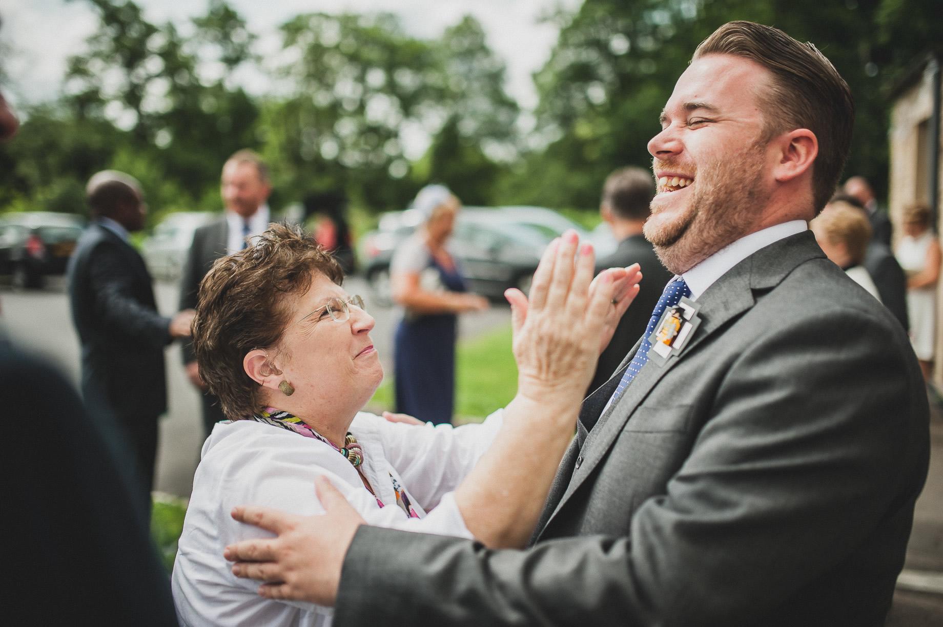 Becky and John's Wedding at Slaidburn Village Hall 063
