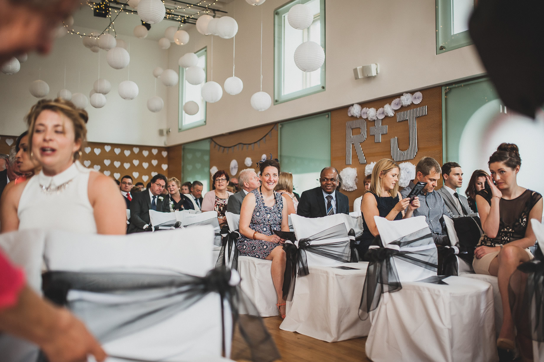 Becky and John's Wedding at Slaidburn Village Hall 067
