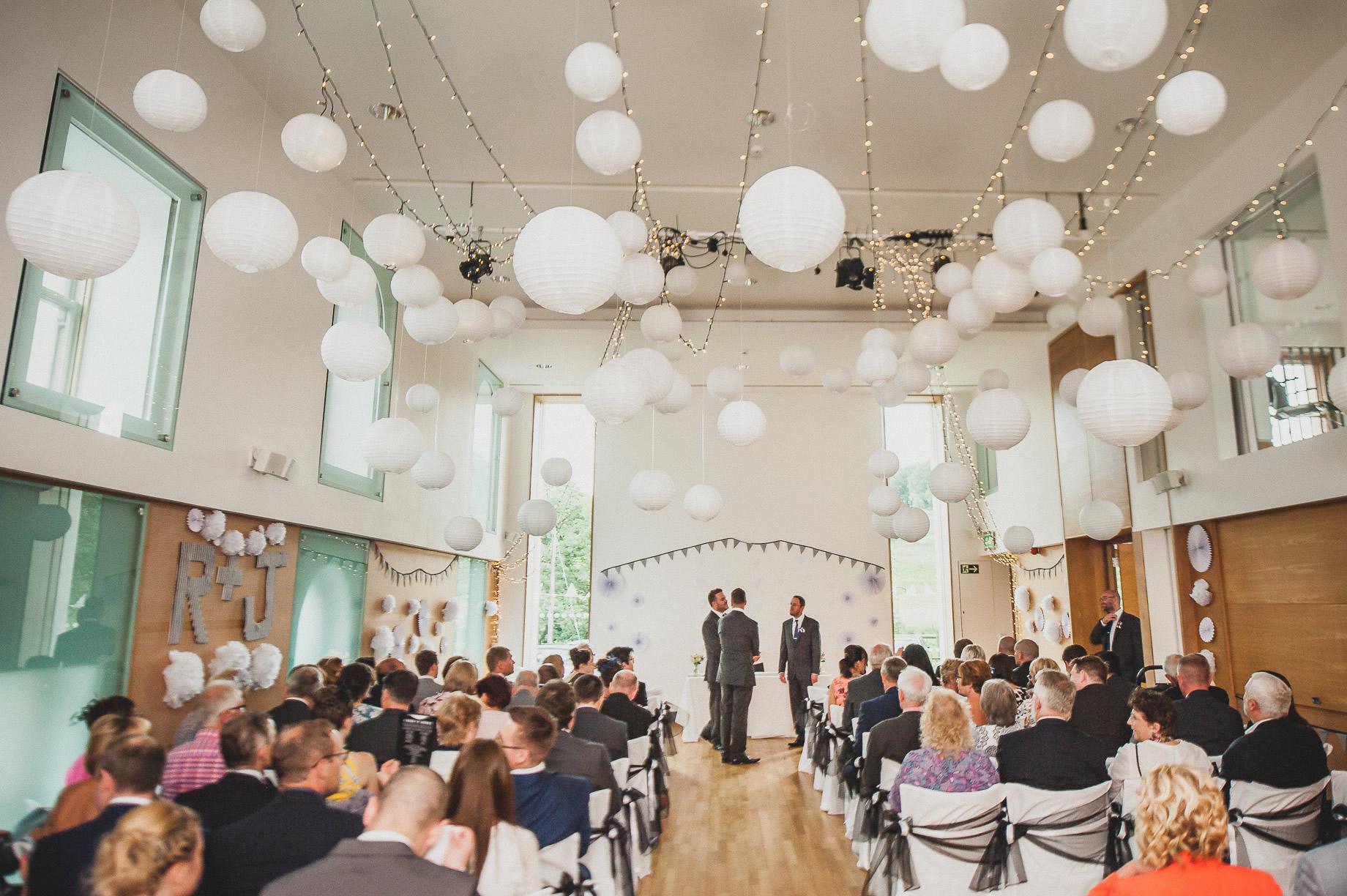 Becky and John's Wedding at Slaidburn Village Hall 069