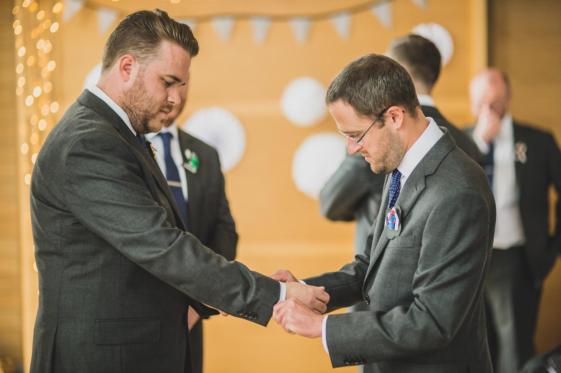 Becky and John's Wedding at Slaidburn Village Hall 070
