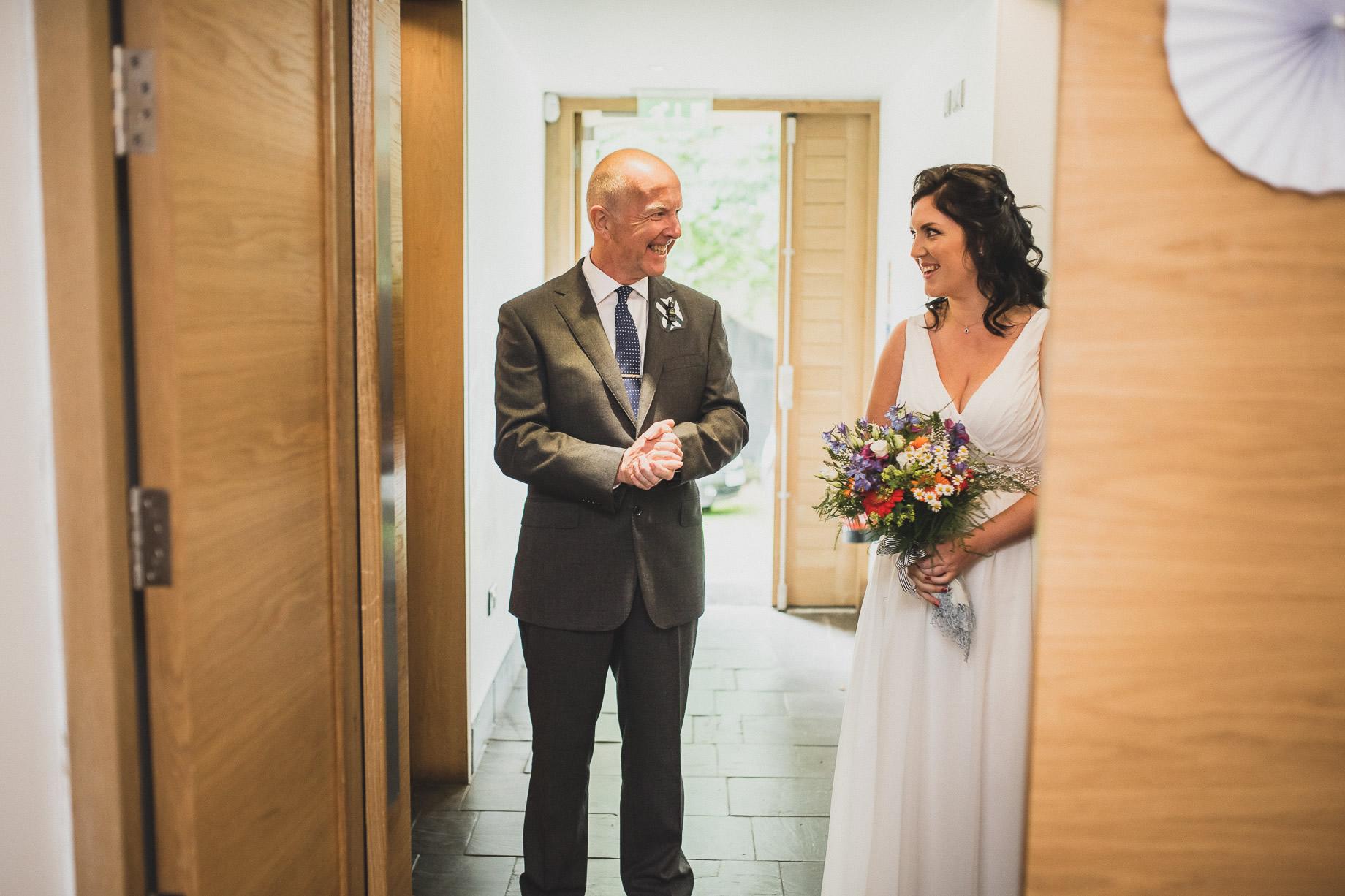 Becky and John's Wedding at Slaidburn Village Hall 073