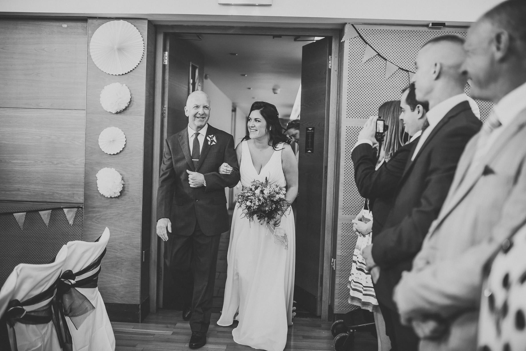 Becky and John's Wedding at Slaidburn Village Hall 076