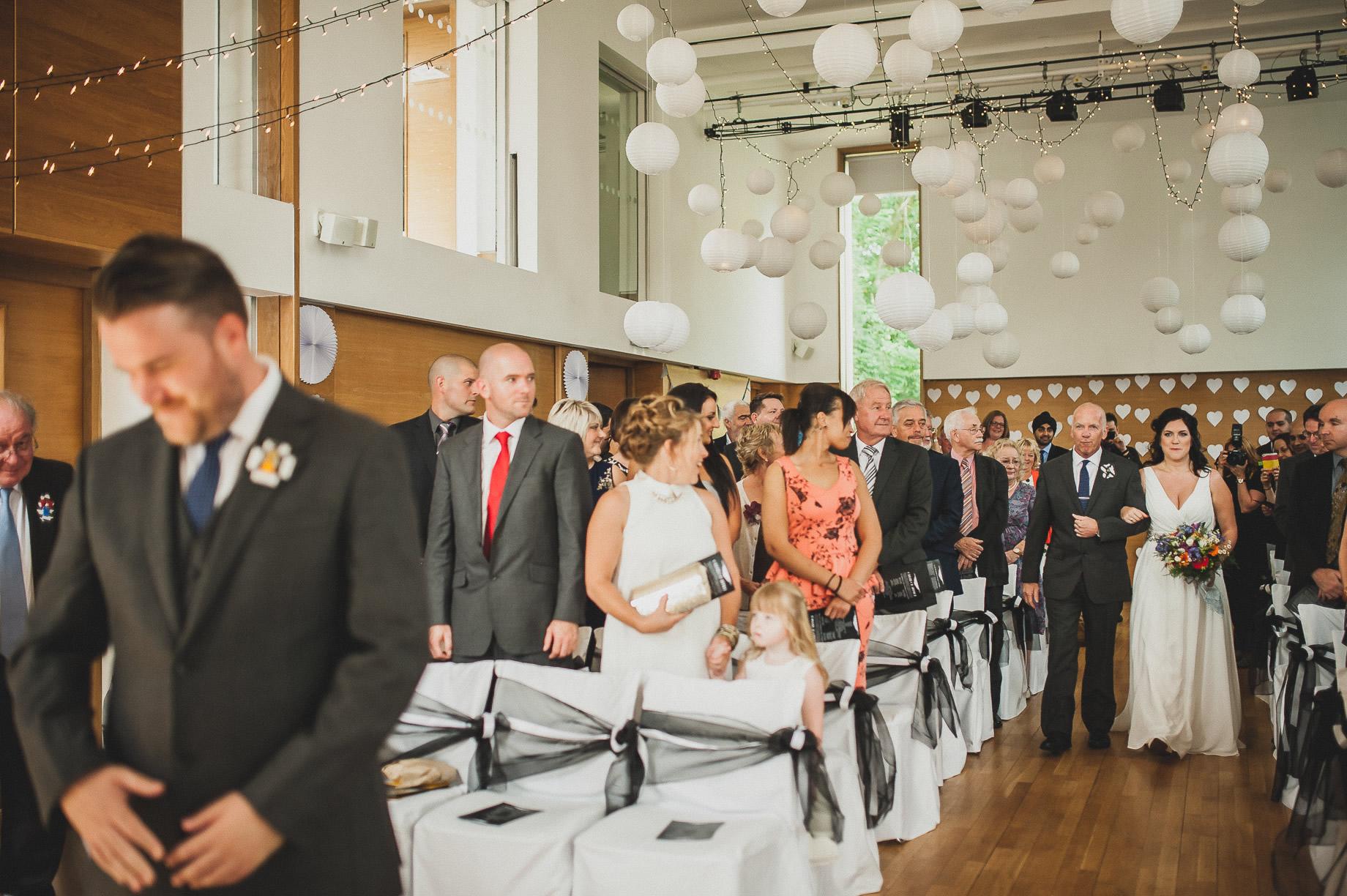 Becky and John's Wedding at Slaidburn Village Hall 077