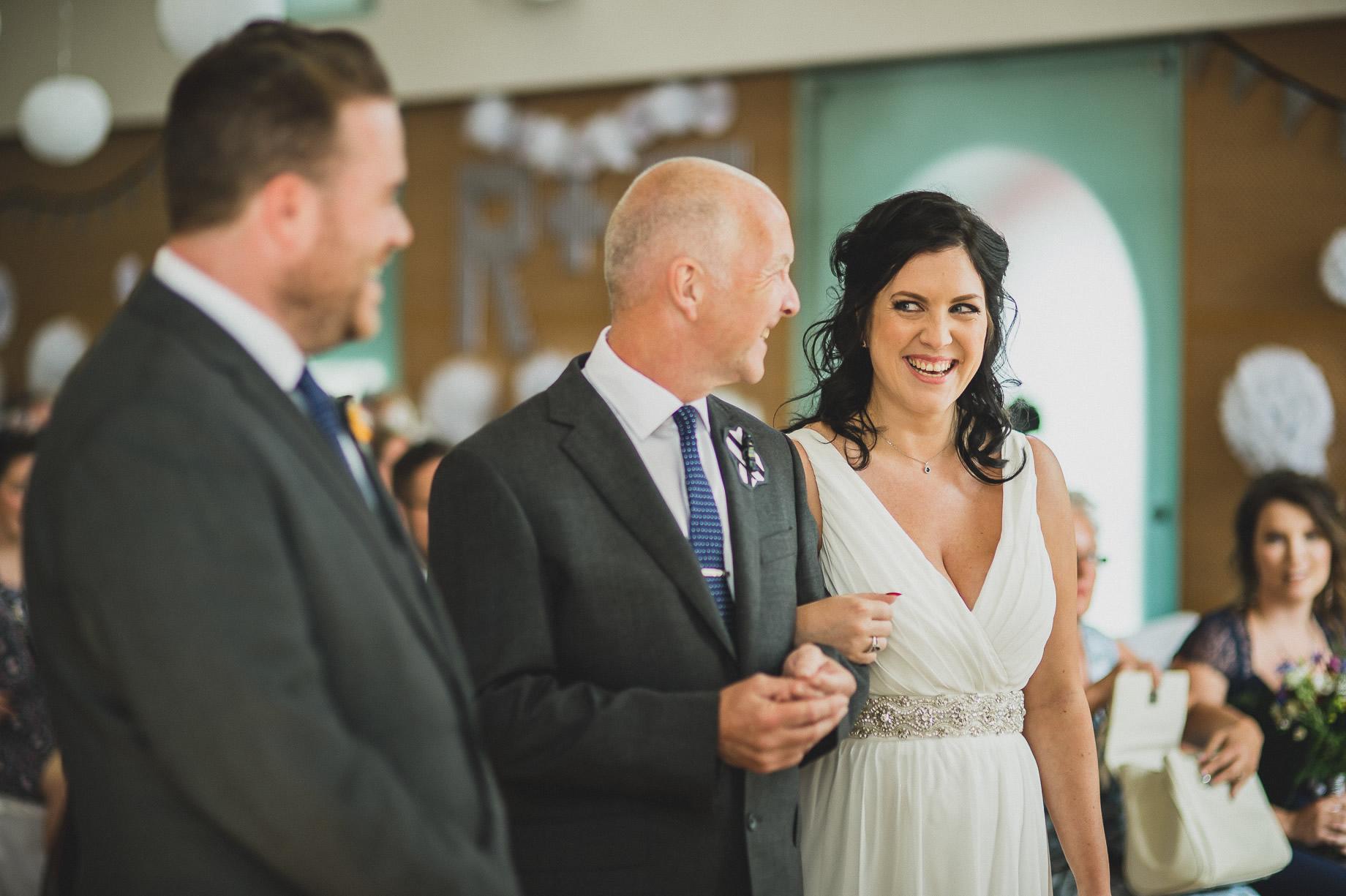 Becky and John's Wedding at Slaidburn Village Hall 078