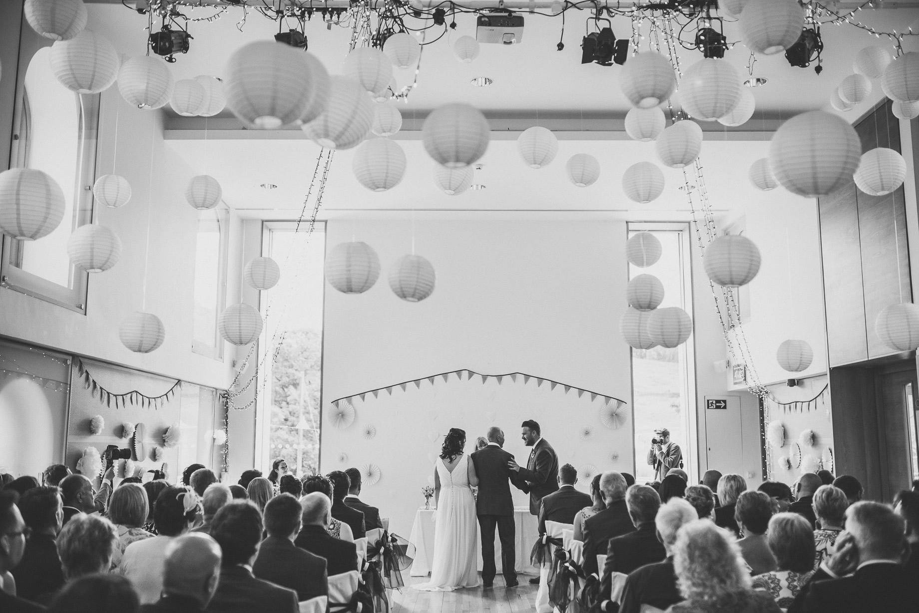Becky and John's Wedding at Slaidburn Village Hall 079