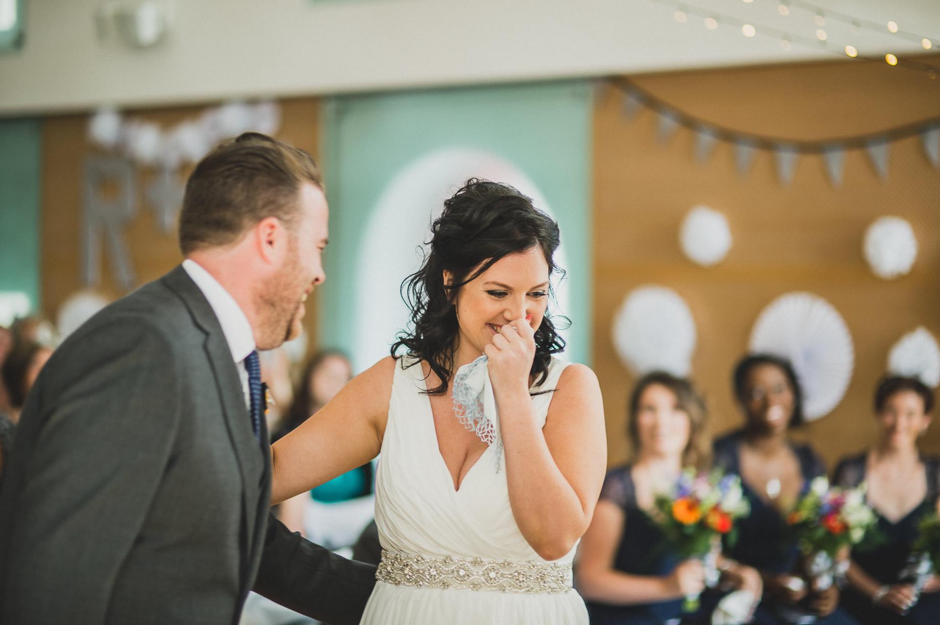 Becky and John's Wedding at Slaidburn Village Hall 080