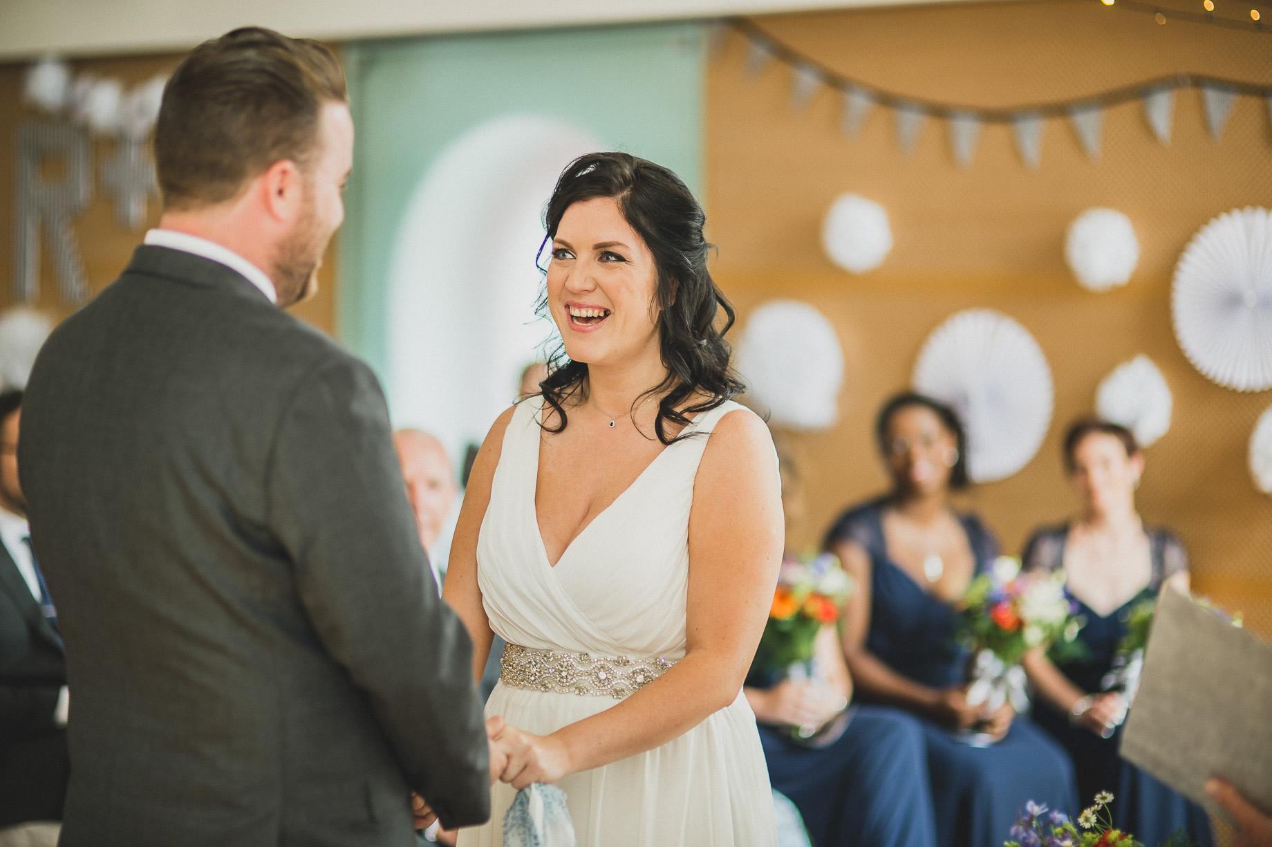 Becky and John's Wedding at Slaidburn Village Hall 081