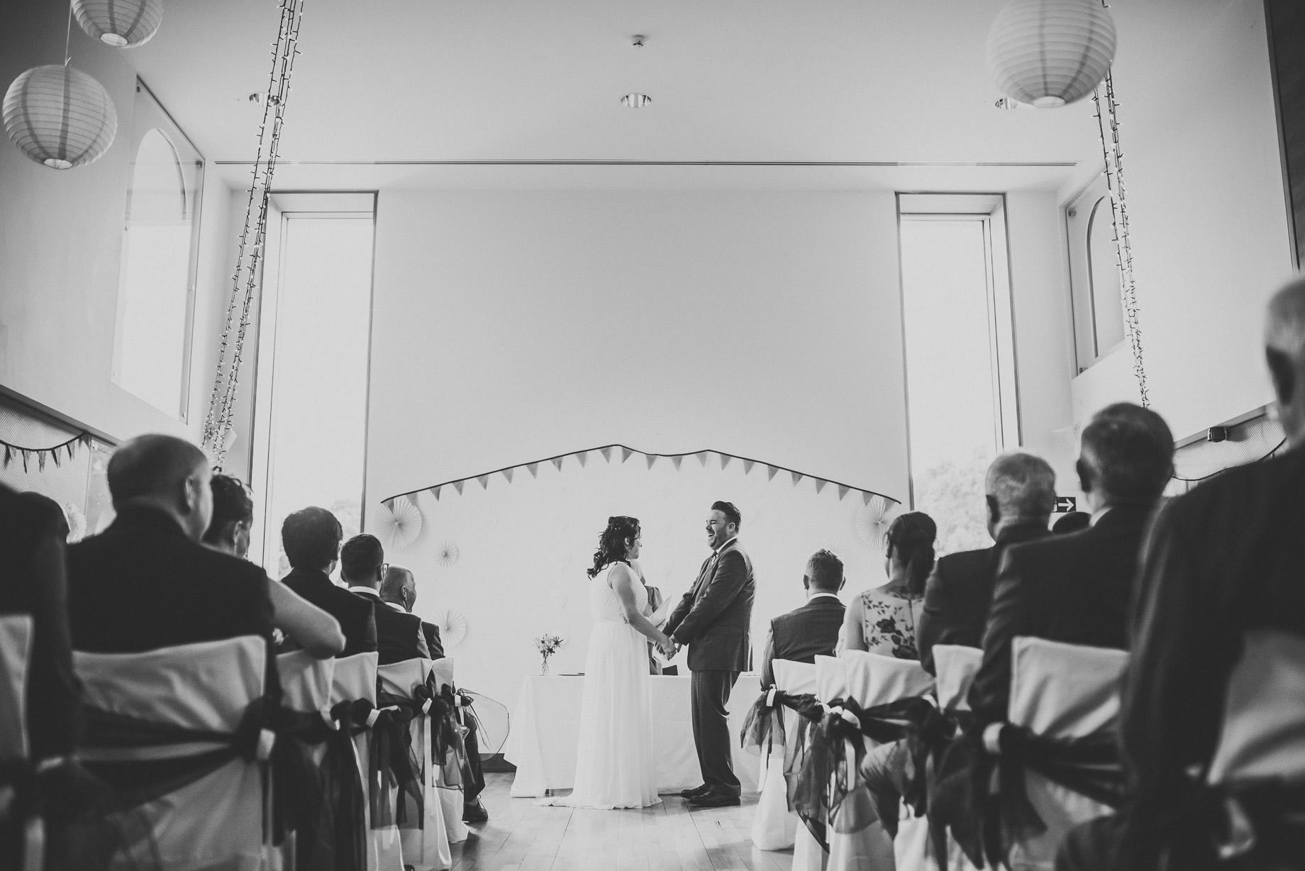 Becky and John's Wedding at Slaidburn Village Hall 082