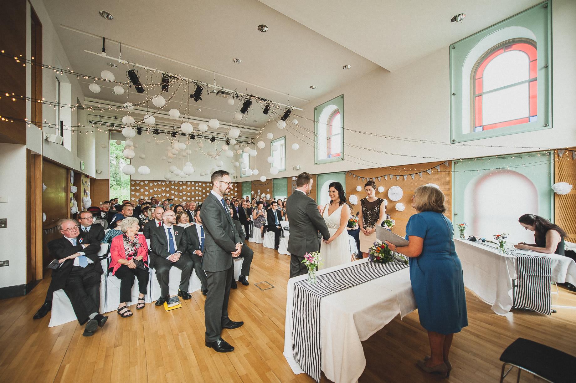 Becky and John's Wedding at Slaidburn Village Hall 084
