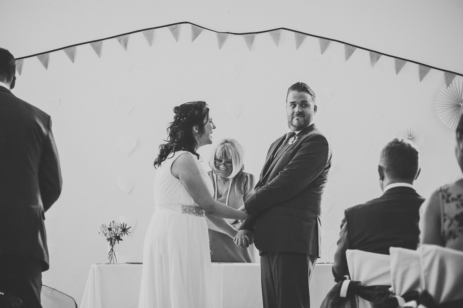 Becky and John's Wedding at Slaidburn Village Hall 085