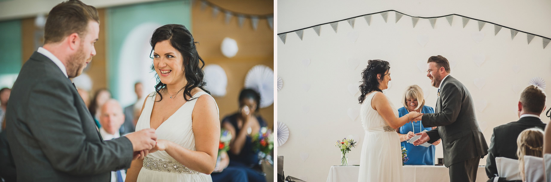 Becky and John's Wedding at Slaidburn Village Hall 086