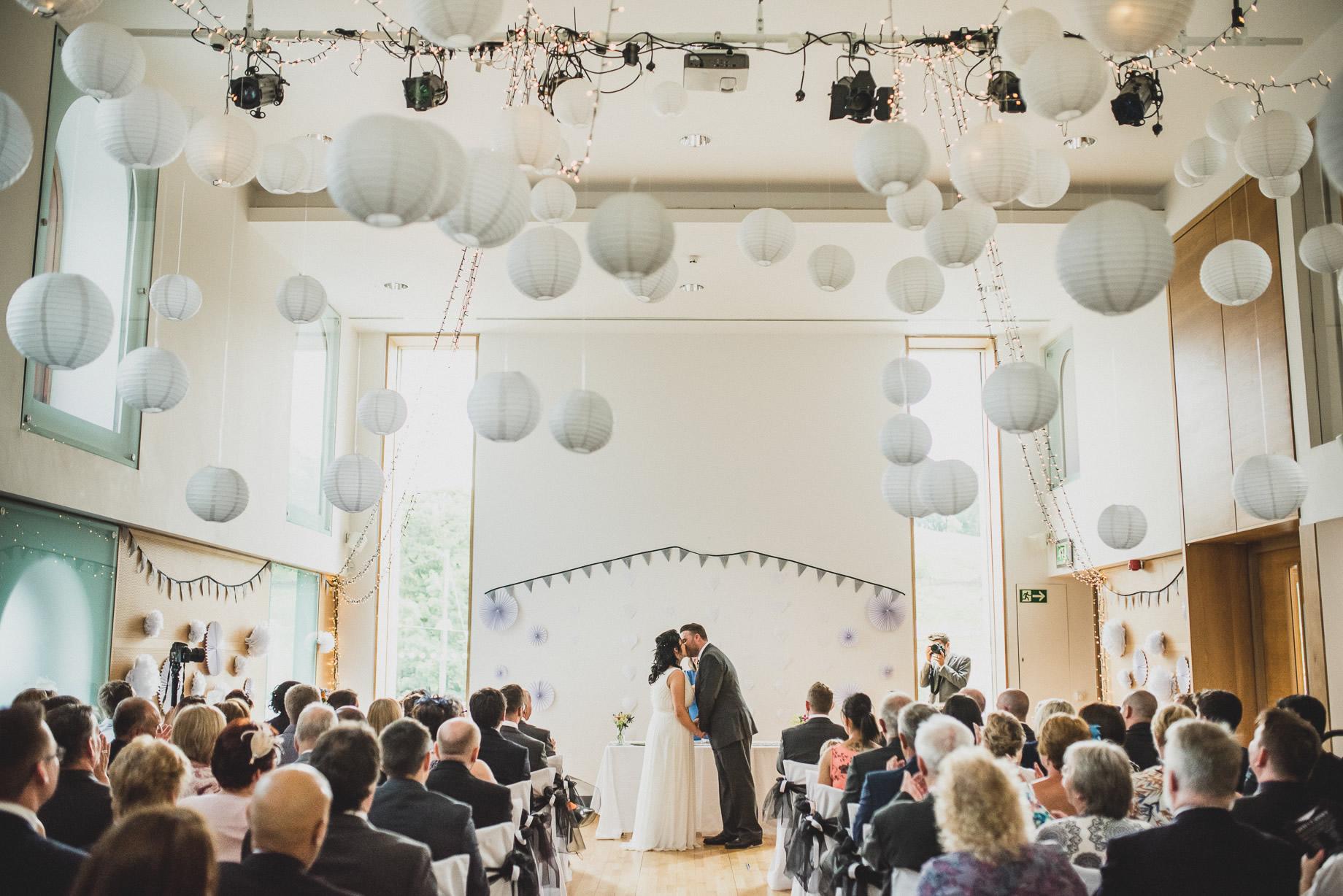 Becky and John's Wedding at Slaidburn Village Hall 087