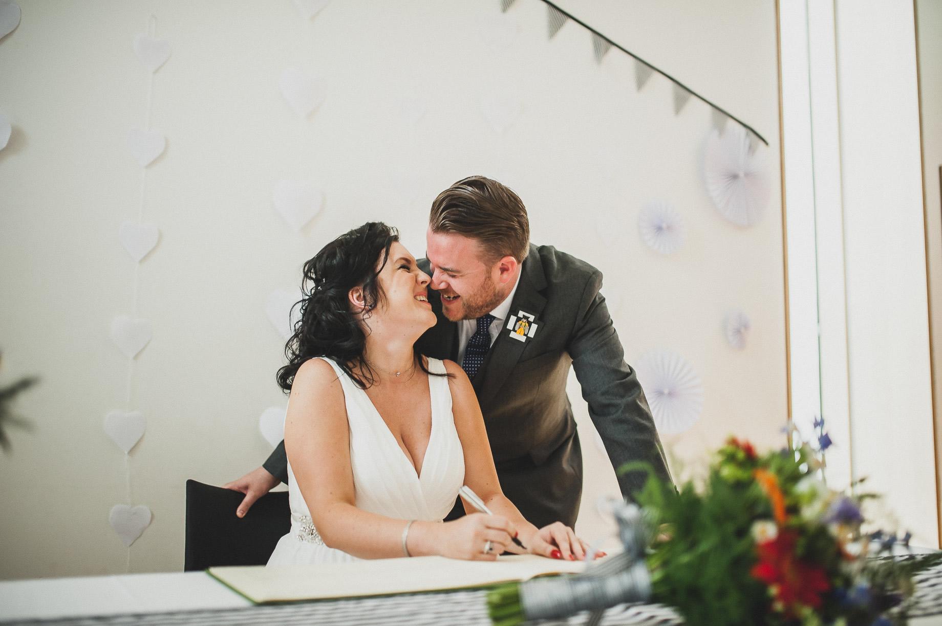 Becky and John's Wedding at Slaidburn Village Hall 089