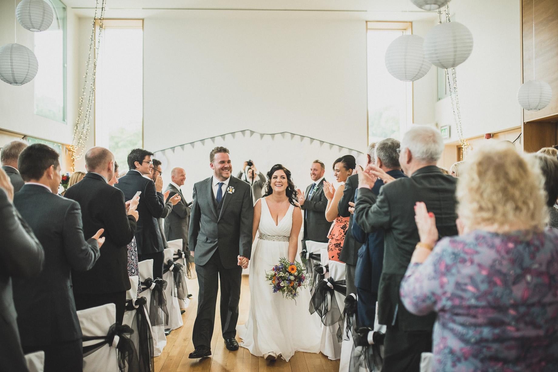 Becky and John's Wedding at Slaidburn Village Hall 090
