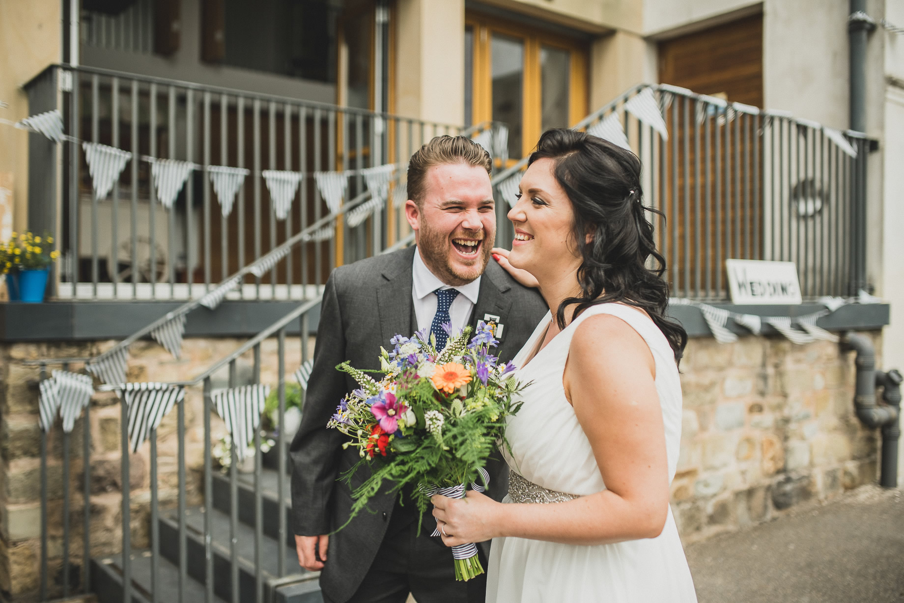 Becky and John's Wedding at Slaidburn Village Hall 091