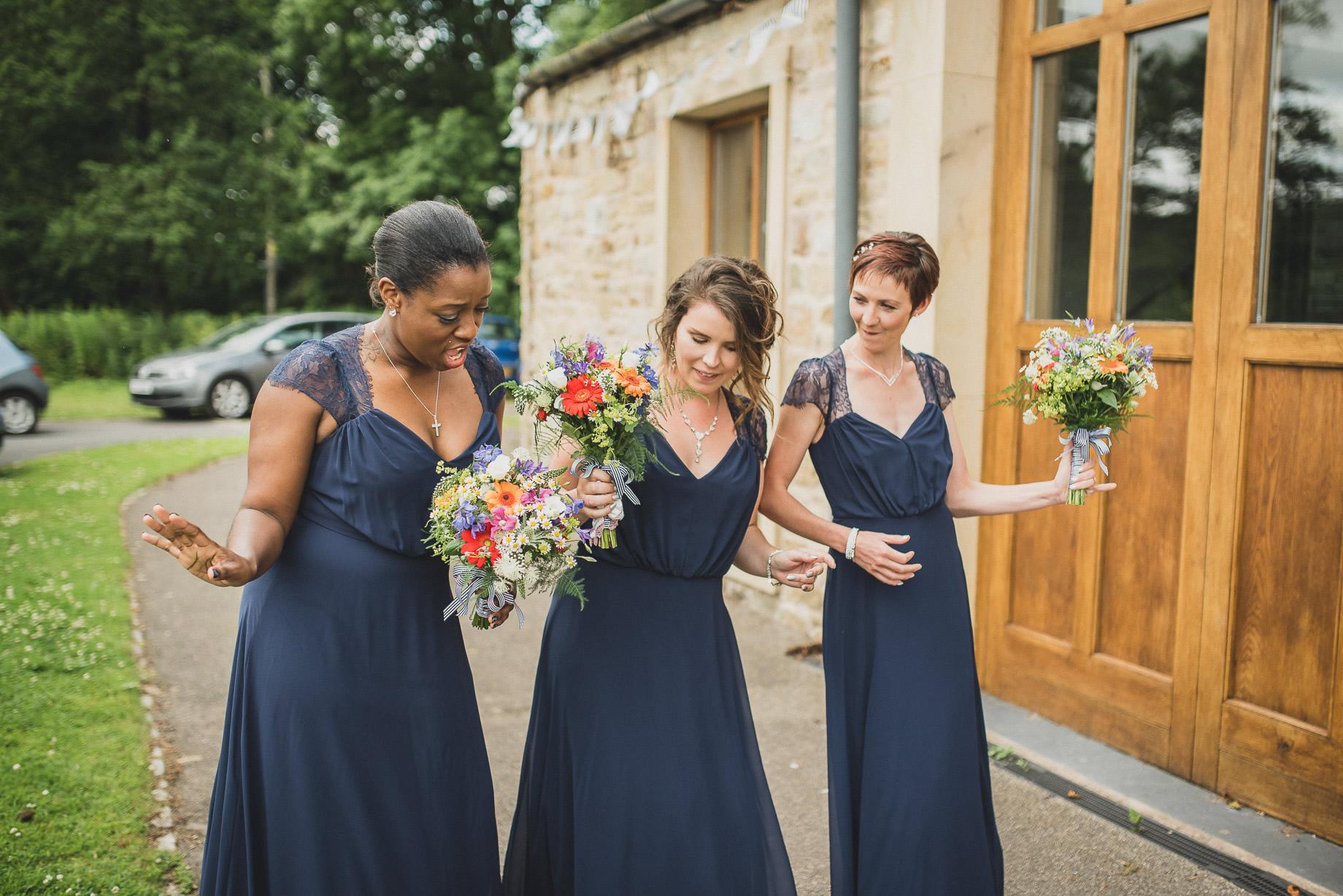 Becky and John's Wedding at Slaidburn Village Hall 092