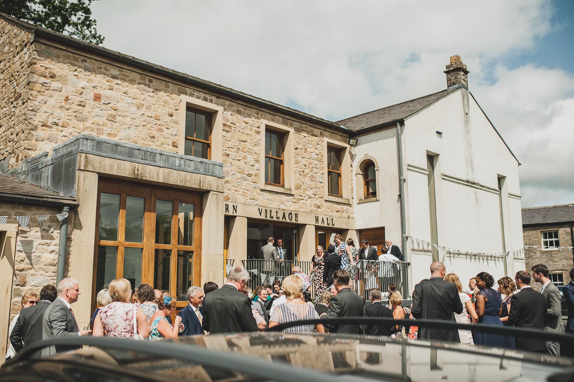 Becky and John's Wedding at Slaidburn Village Hall 099