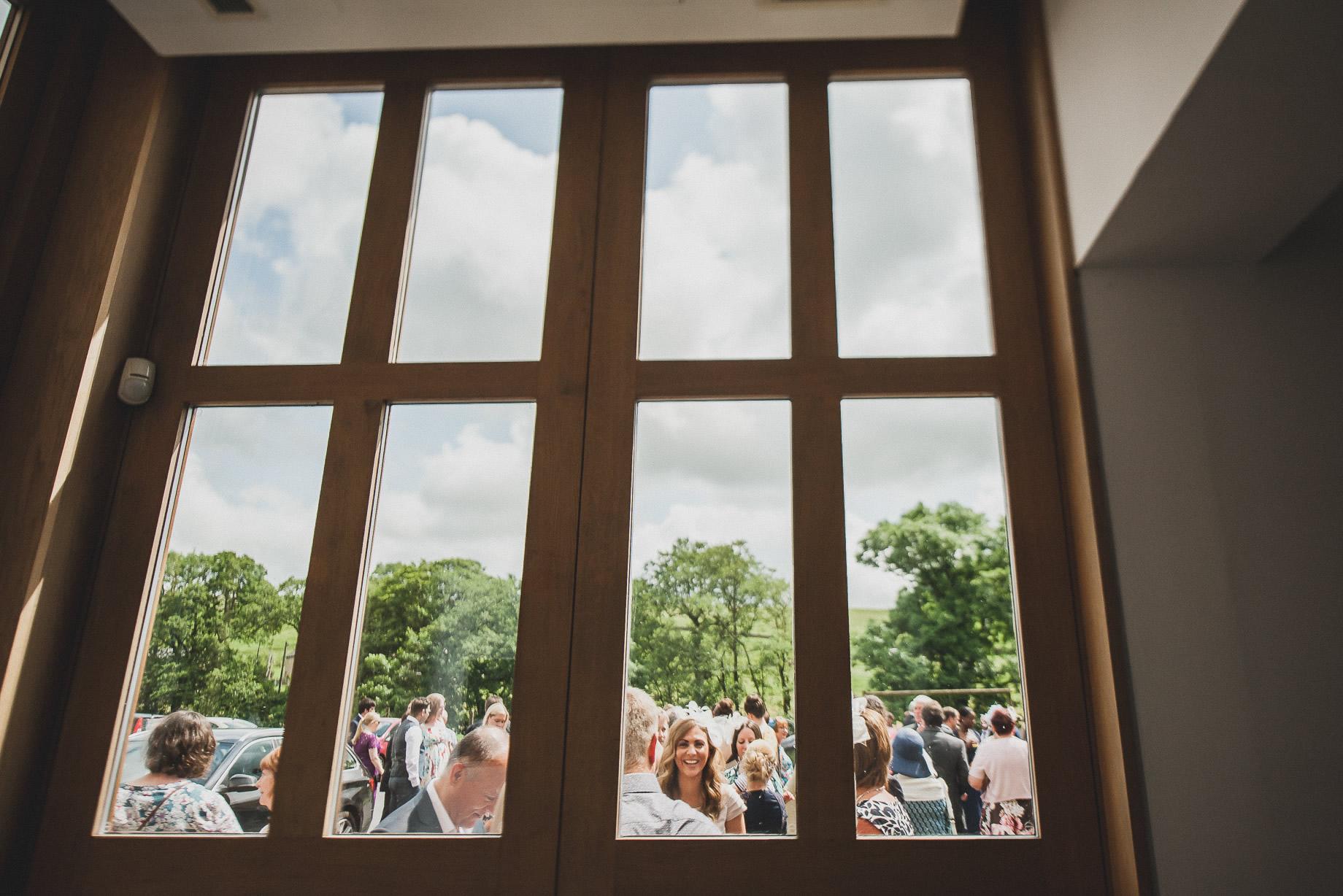Becky and John's Wedding at Slaidburn Village Hall 106